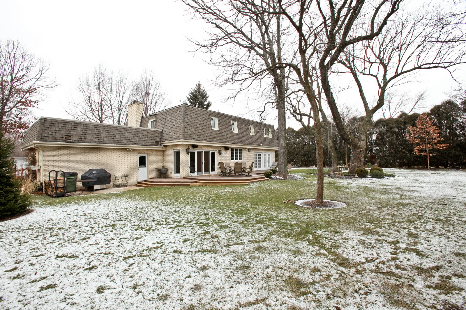 Real Estate Photography - 1 Strauss Lane, Olympia Fields, IL, 60461 - Rear View