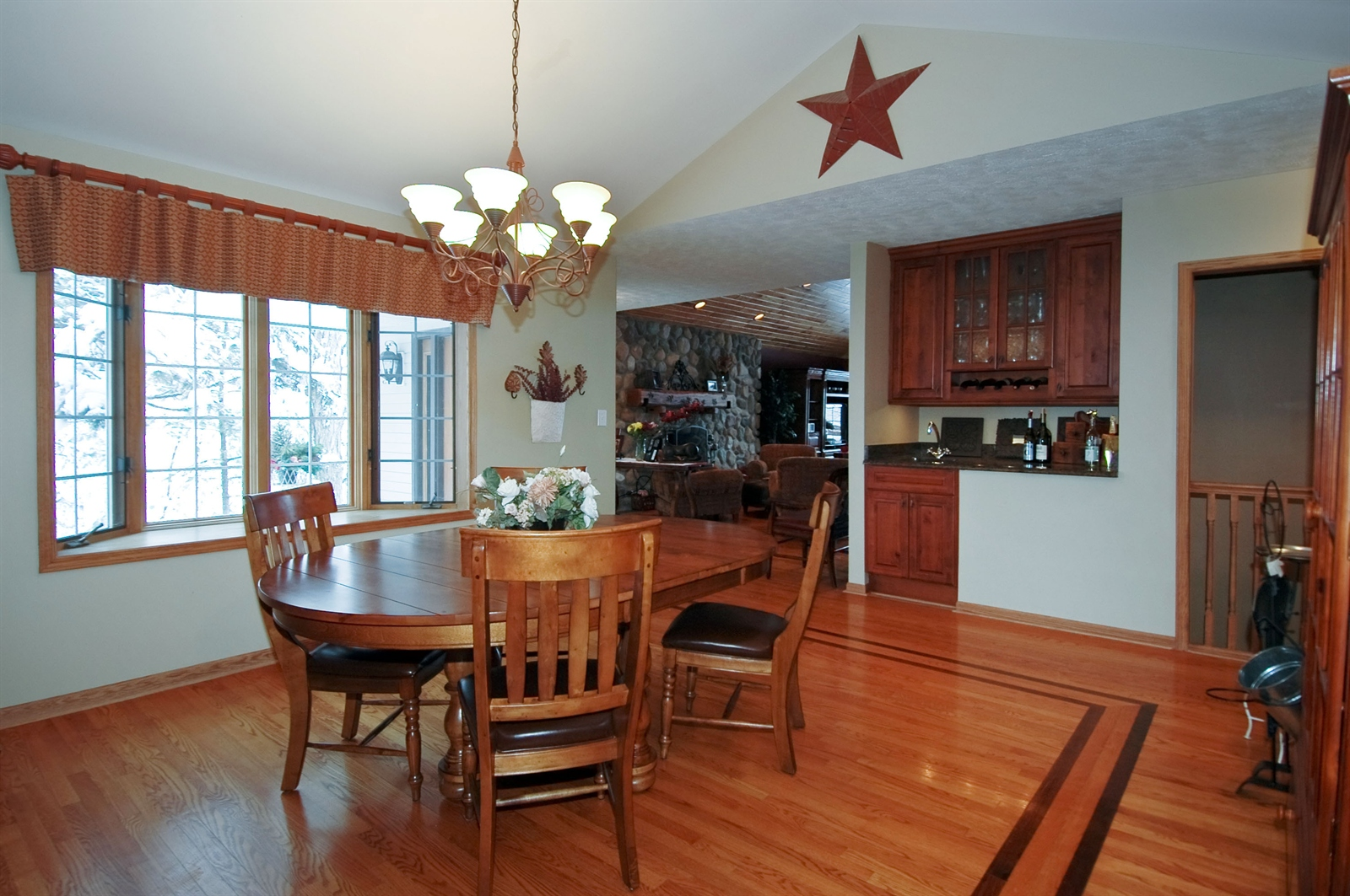 Real Estate Photography - 405 Concord Ave, Fox River Grove, IL, 60021 - Dining Room