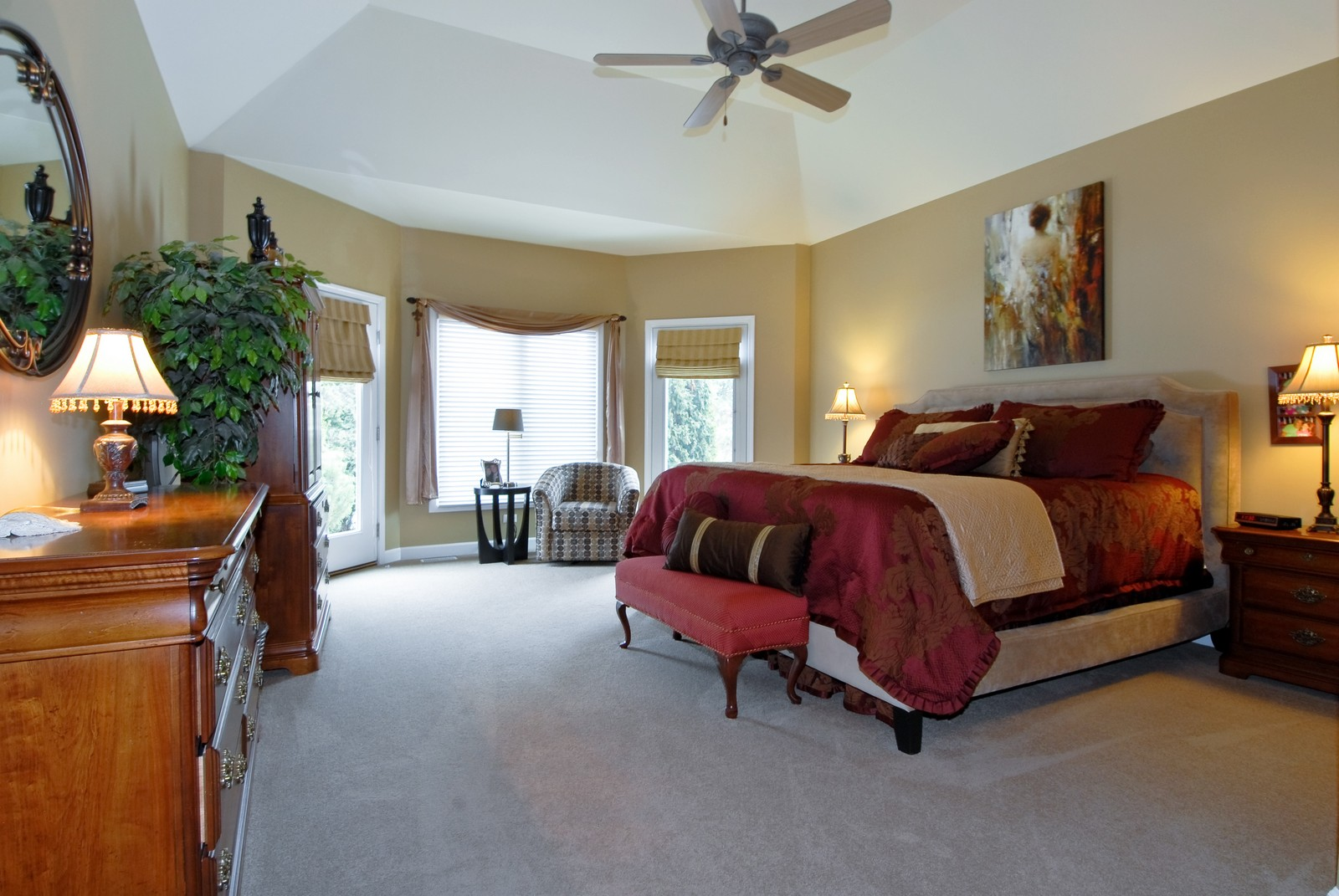 Real Estate Photography - 701 Ashton Ln, South Elgin, IL, 60177 - Master Bedroom