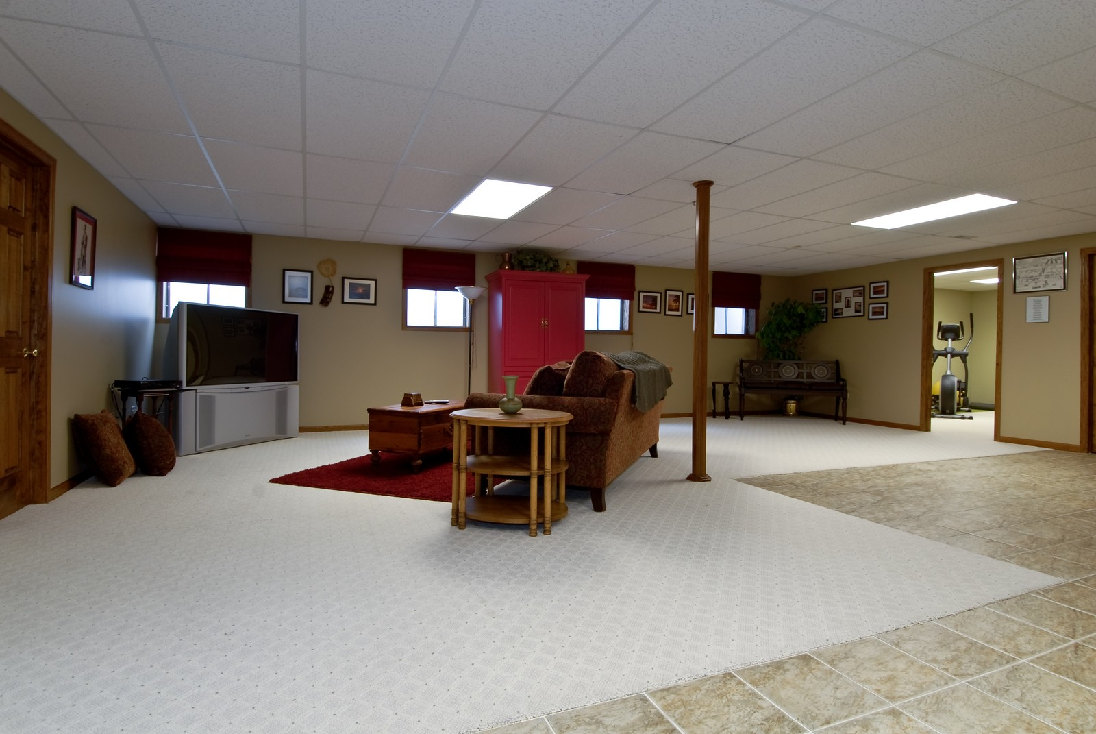 Real Estate Photography - 701 Ashton Ln, South Elgin, IL, 60177 - Basement