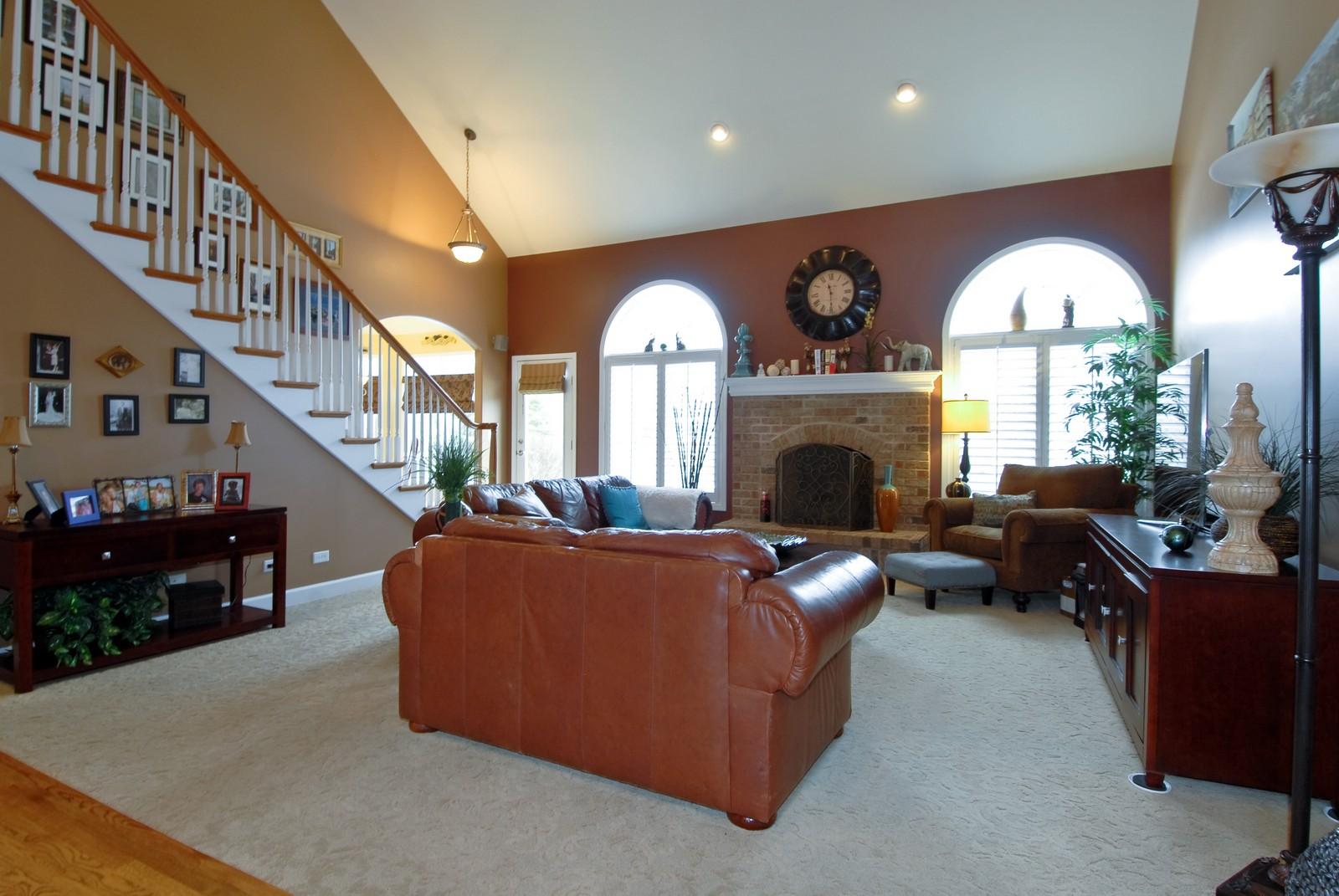 Real Estate Photography - 701 Ashton Ln, South Elgin, IL, 60177 - Family Room