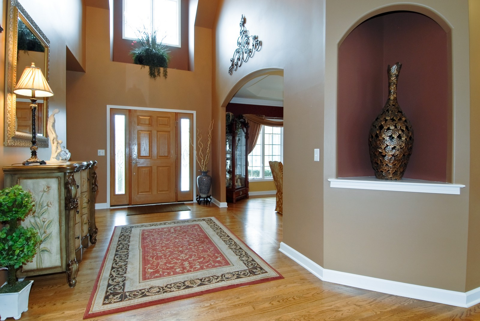 Real Estate Photography - 701 Ashton Ln, South Elgin, IL, 60177 - Foyer