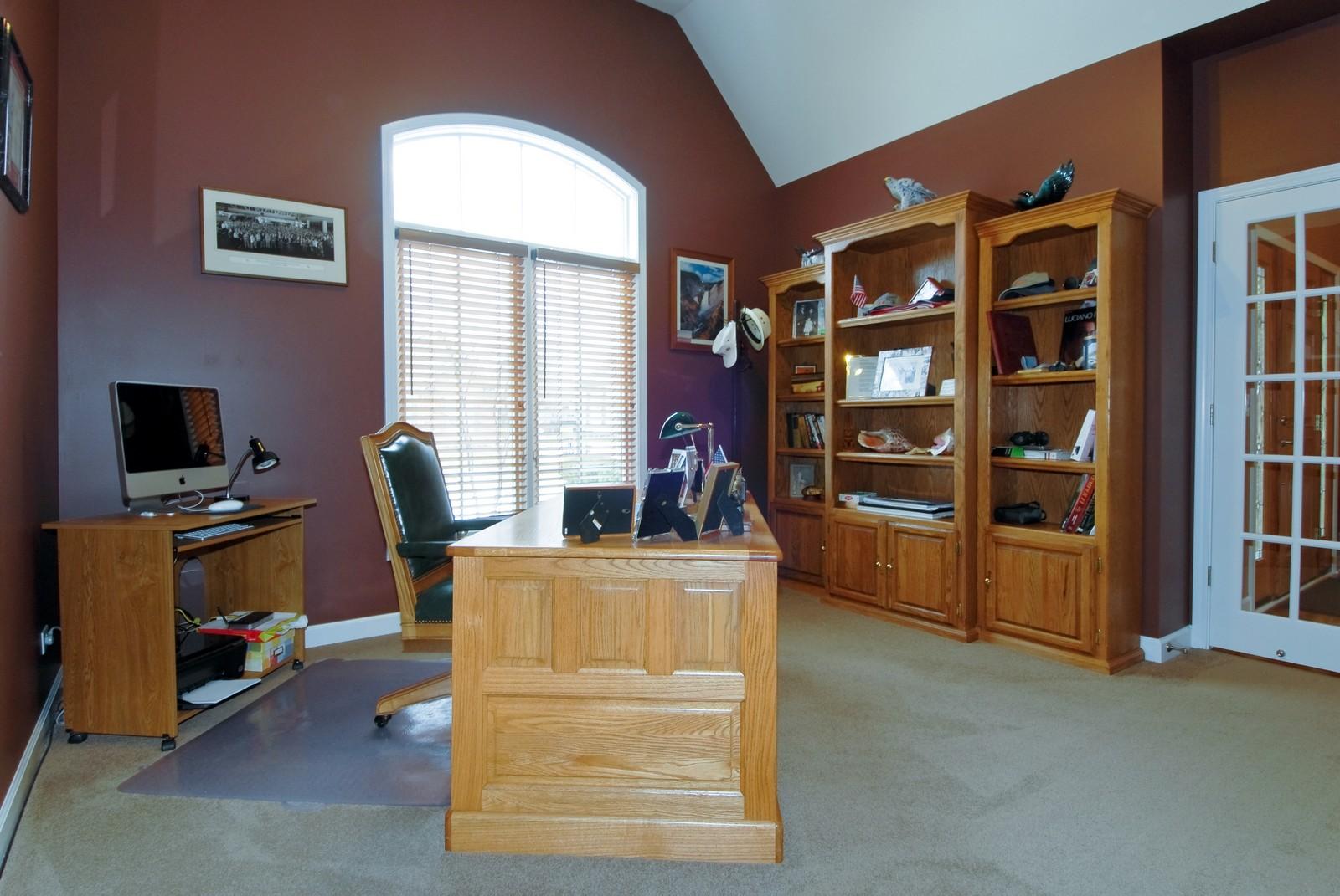Real Estate Photography - 701 Ashton Ln, South Elgin, IL, 60177 - Den