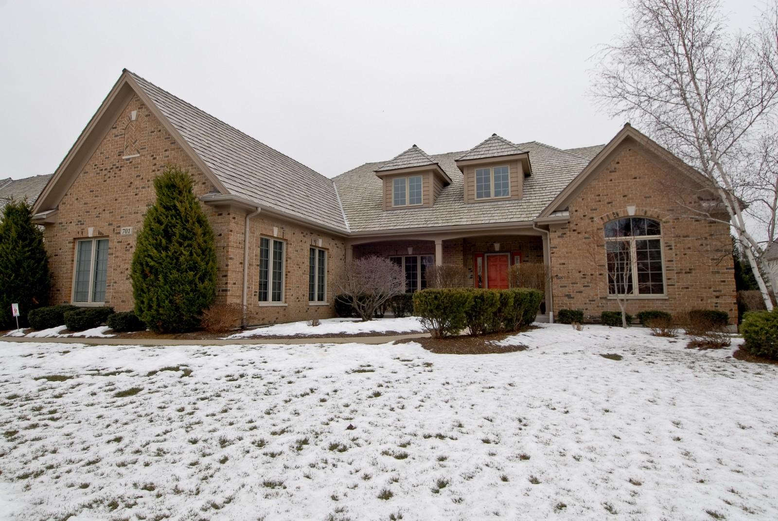 Real Estate Photography - 701 Ashton Ln, South Elgin, IL, 60177 - Front View