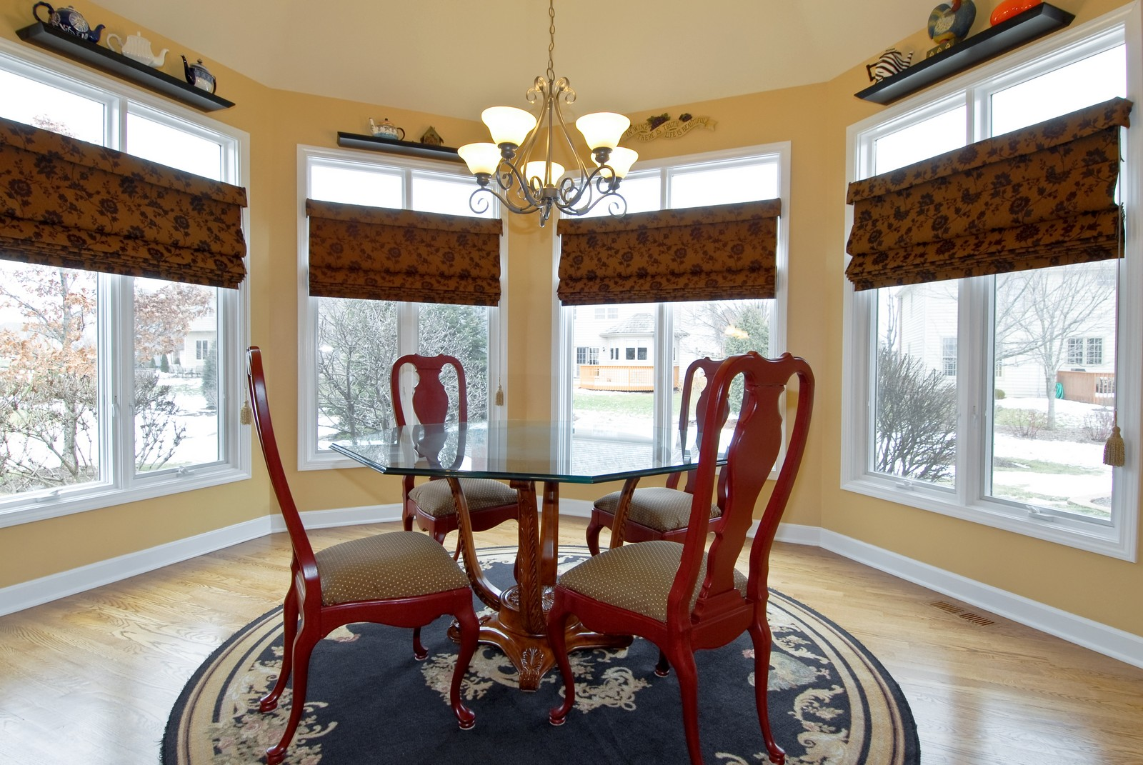 Real Estate Photography - 701 Ashton Ln, South Elgin, IL, 60177 - Breakfast Nook