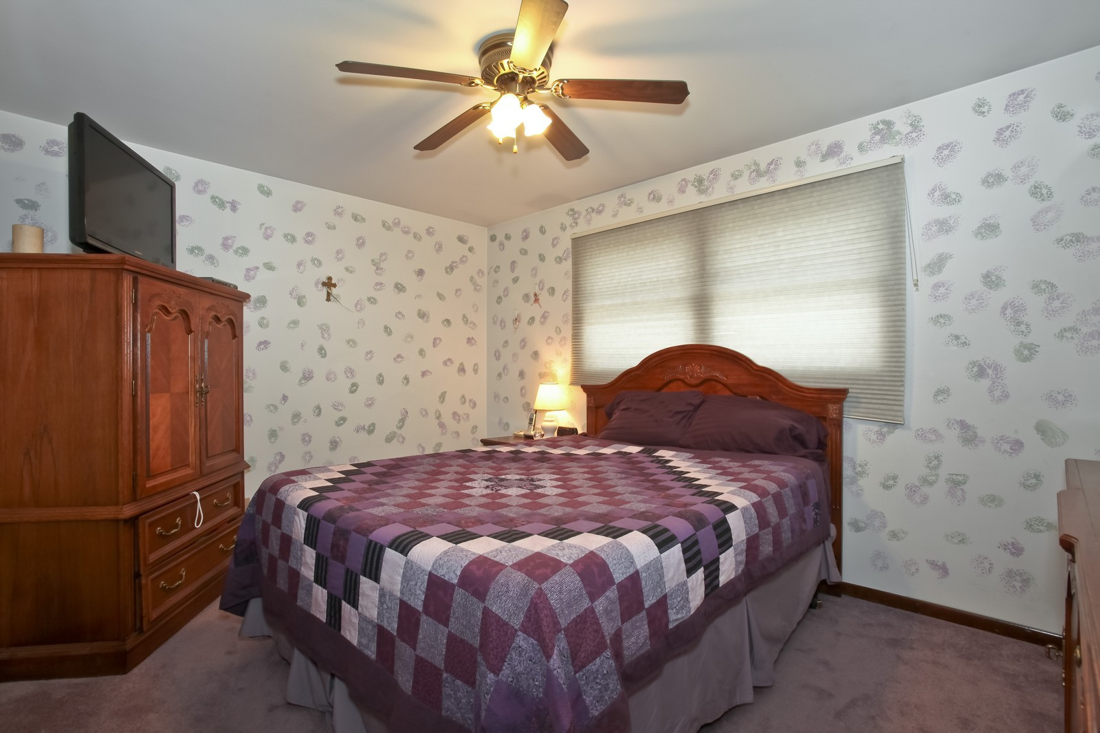 Real Estate Photography - 7609 W 173rd St, Tinley Park, IL, 60477 - Master Bedroom