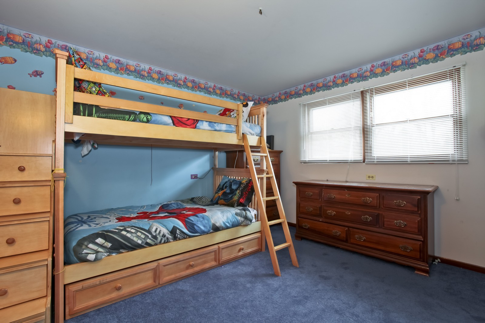 Real Estate Photography - 7609 W 173rd St, Tinley Park, IL, 60477 - 2nd Bedroom