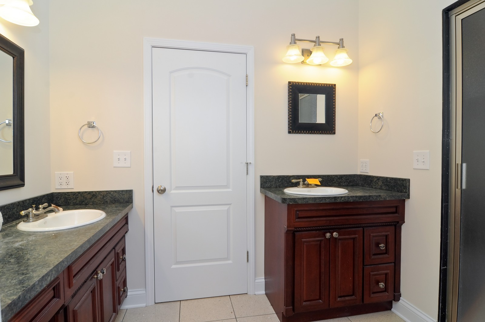 Real Estate Photography - 109 N River Rd, Fox River Grove, IL, 60021 - Master Bathroom