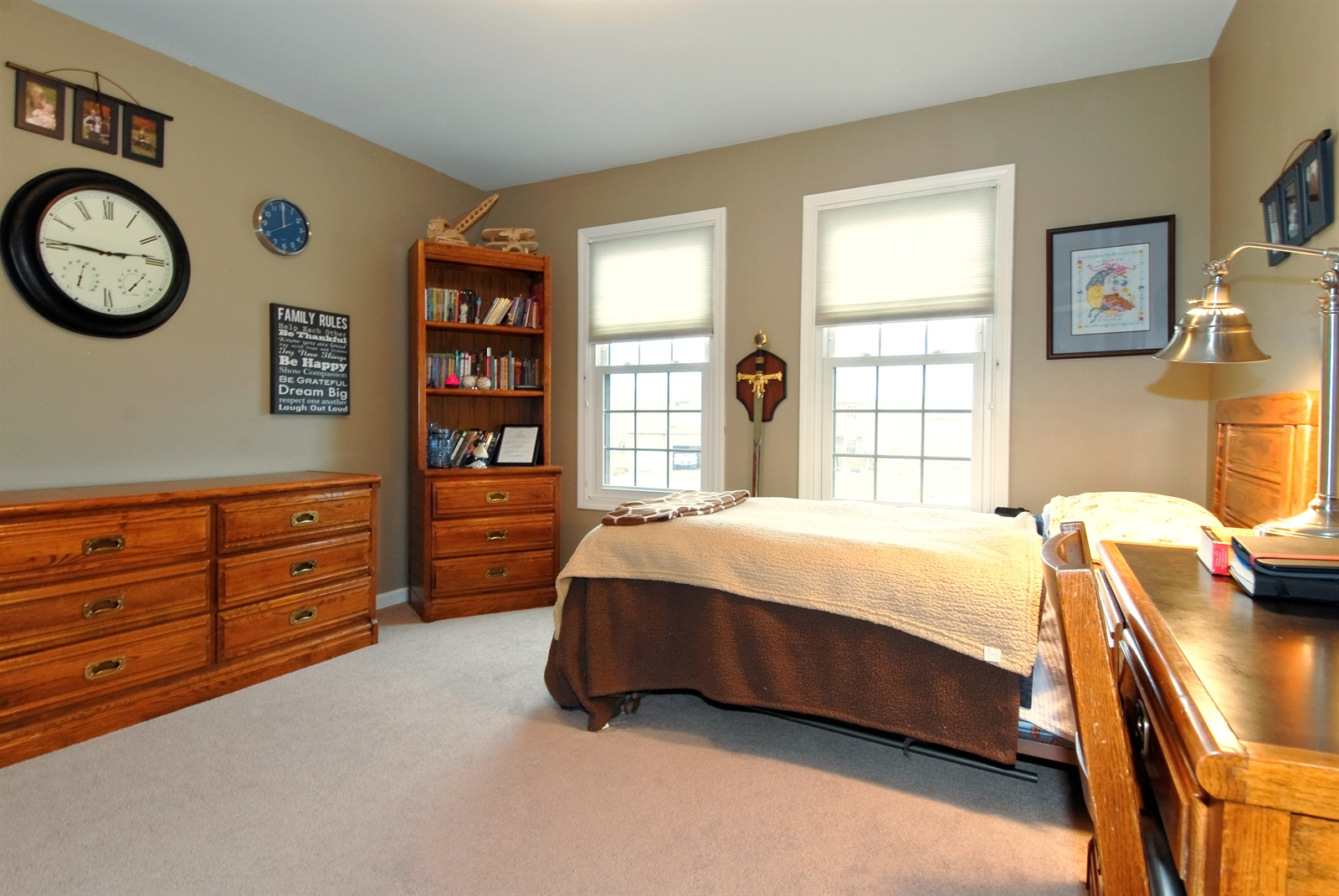 Real Estate Photography - 644 Dewig Ct, North Aurora, IL, 60542 - 3rd Bedroom