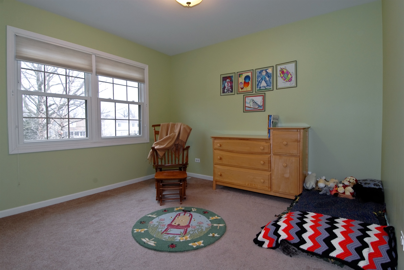 Real Estate Photography - 644 Dewig Ct, North Aurora, IL, 60542 - 4th Bedroom