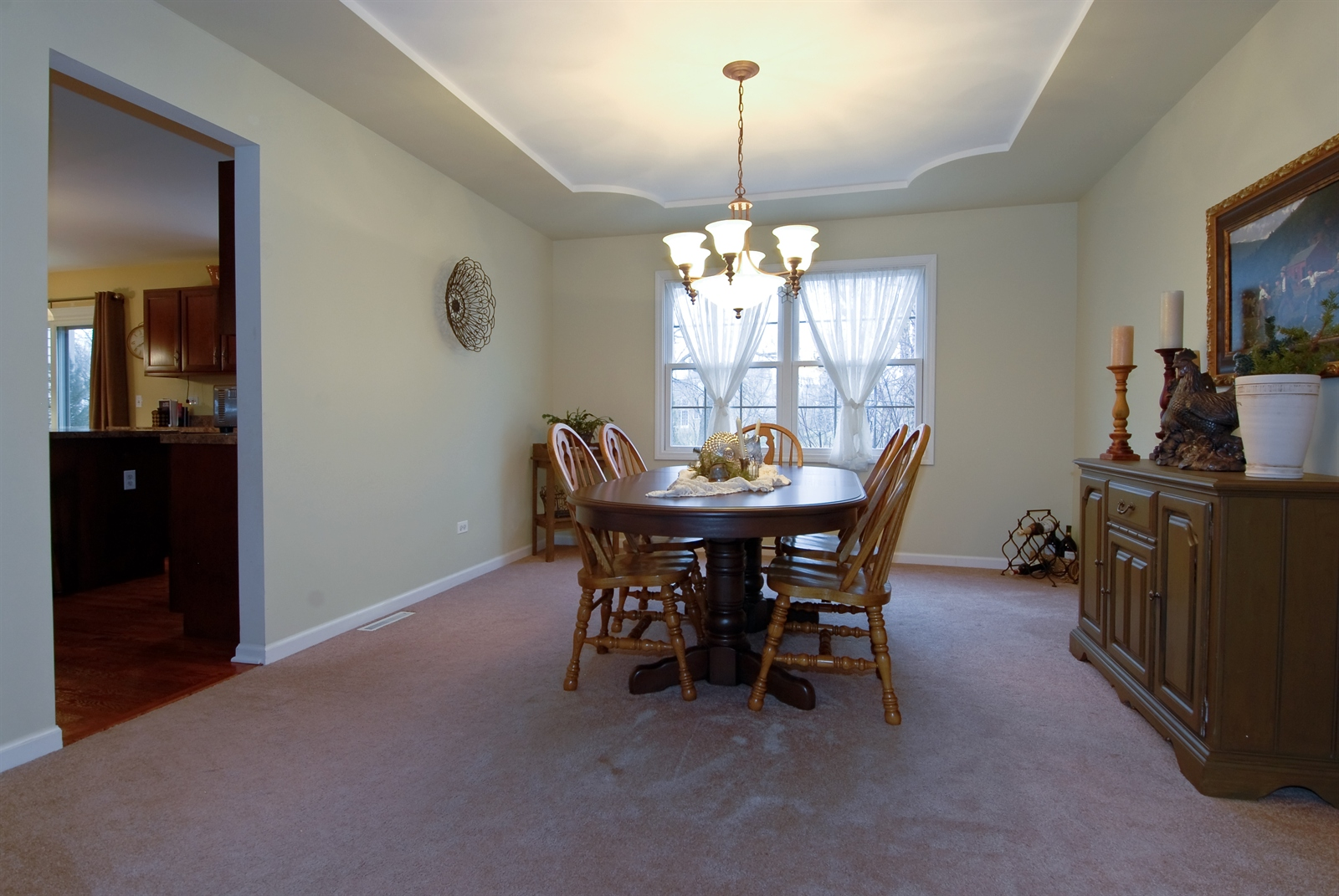 Real Estate Photography - 644 Dewig Ct, North Aurora, IL, 60542 - Dining Room