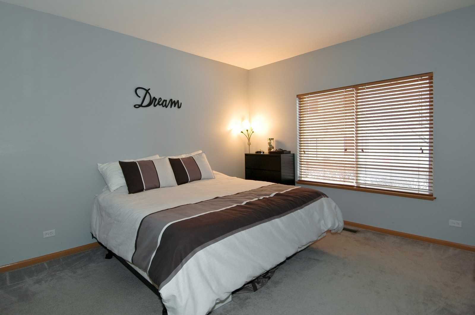 Real Estate Photography - 285 Nicole Dr, Unit F, South Elgin, IL, 60177 - Master Bedroom