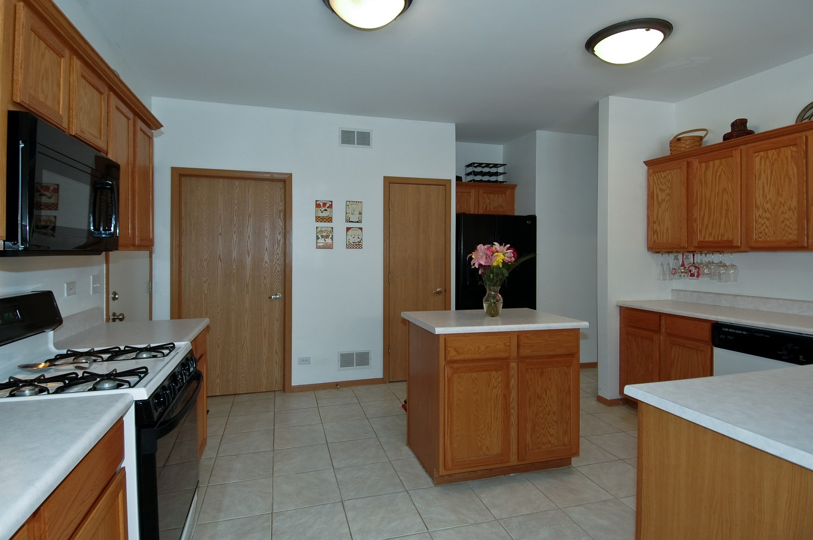 Real Estate Photography - 285 Nicole Dr, Unit F, South Elgin, IL, 60177 - Kitchen
