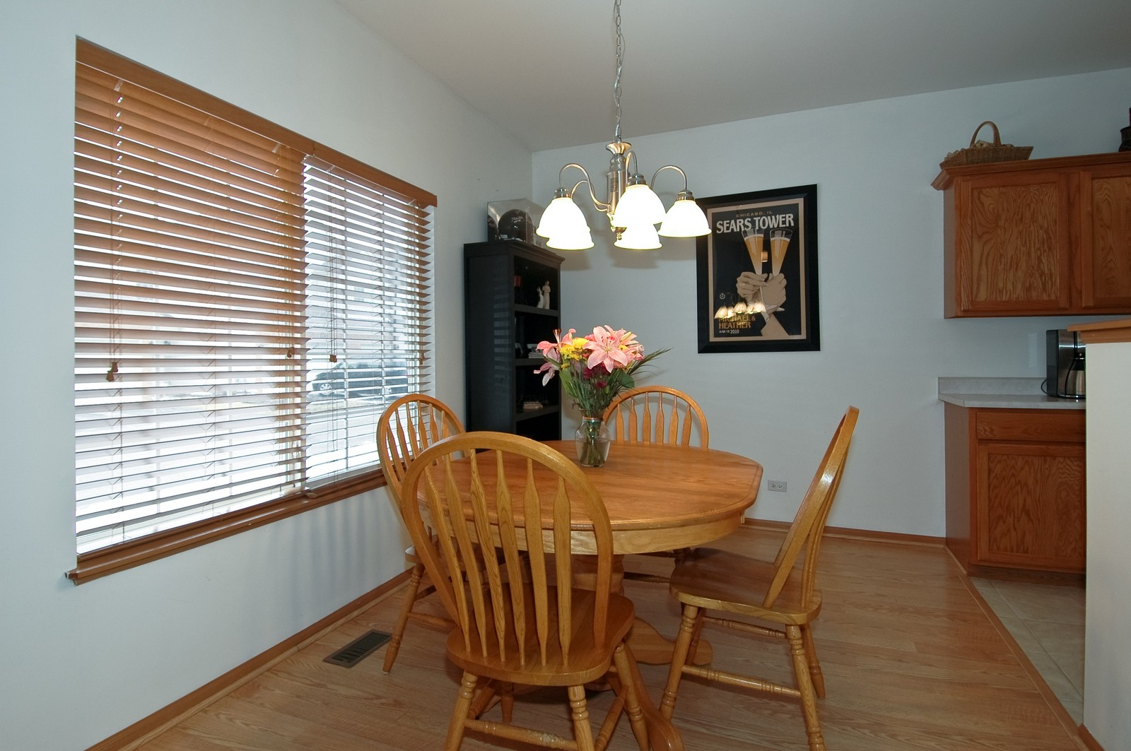 Real Estate Photography - 285 Nicole Dr, Unit F, South Elgin, IL, 60177 - Dining Room