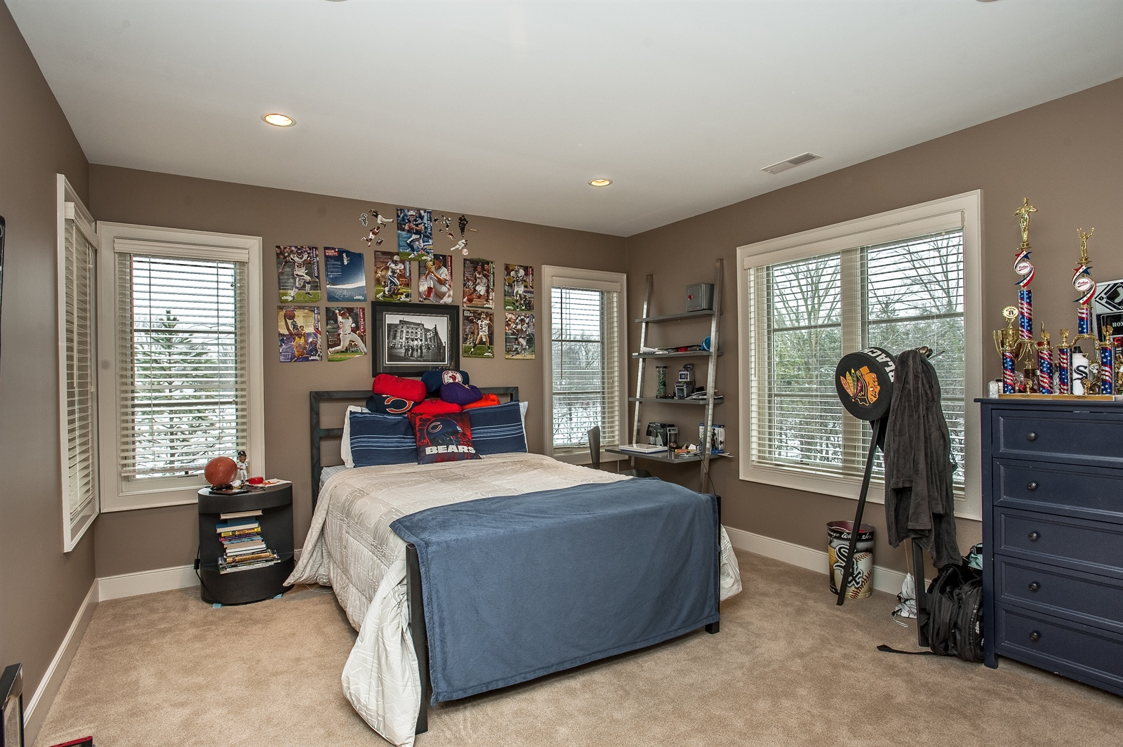 Real Estate Photography - 1715 Cloverdale Ave, Highland Park, IL, 60035 - 2nd Bedroom