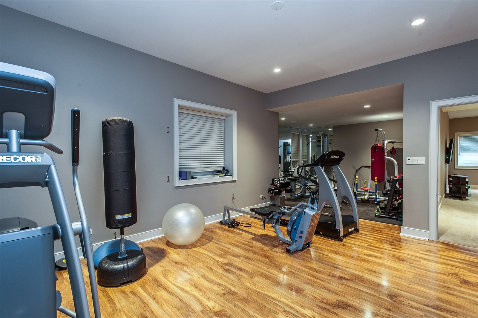 Real Estate Photography - 1715 Cloverdale Ave, Highland Park, IL, 60035 - Exercise Room