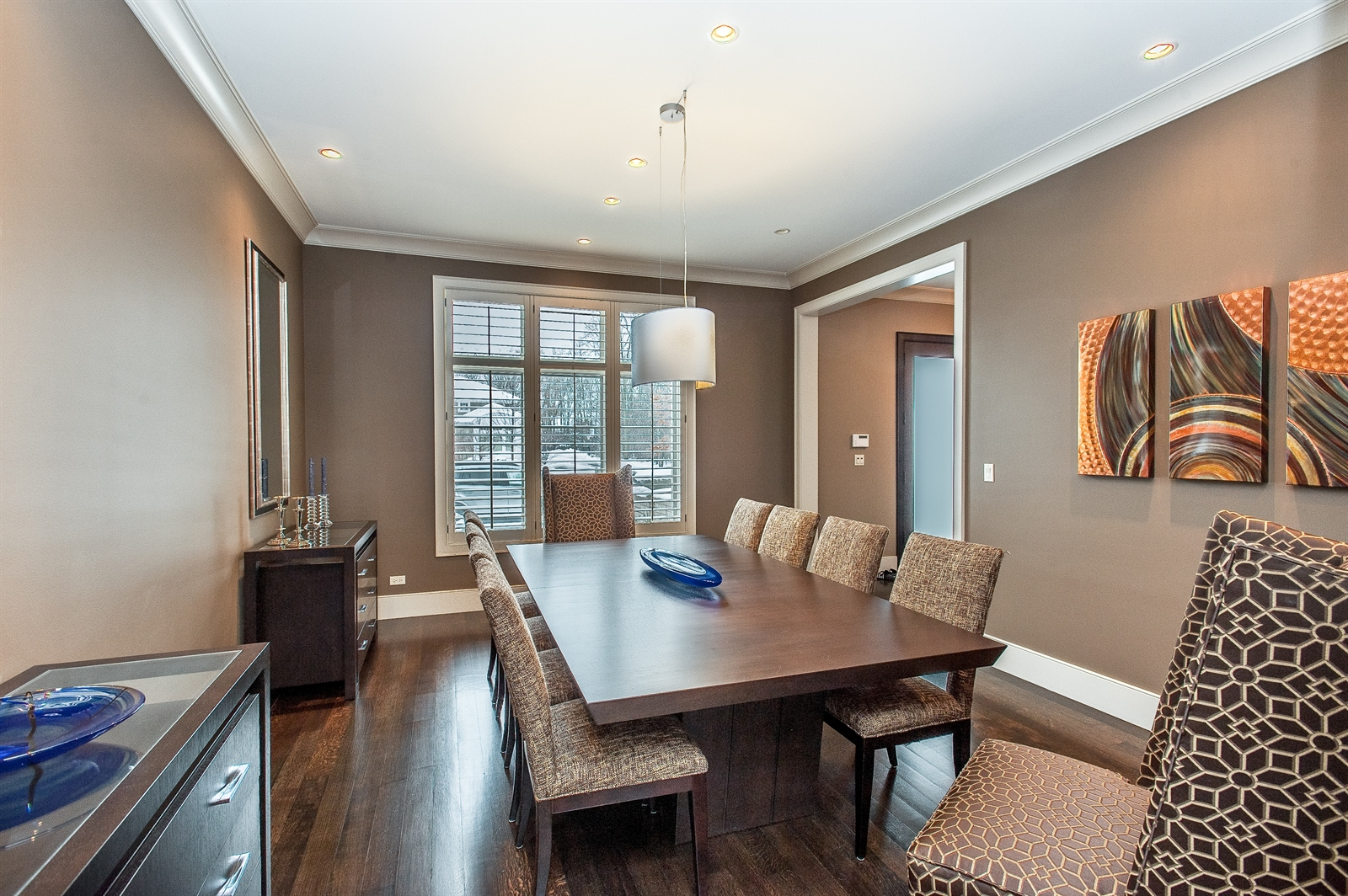 Real Estate Photography - 1715 Cloverdale Ave, Highland Park, IL, 60035 - Dining Room