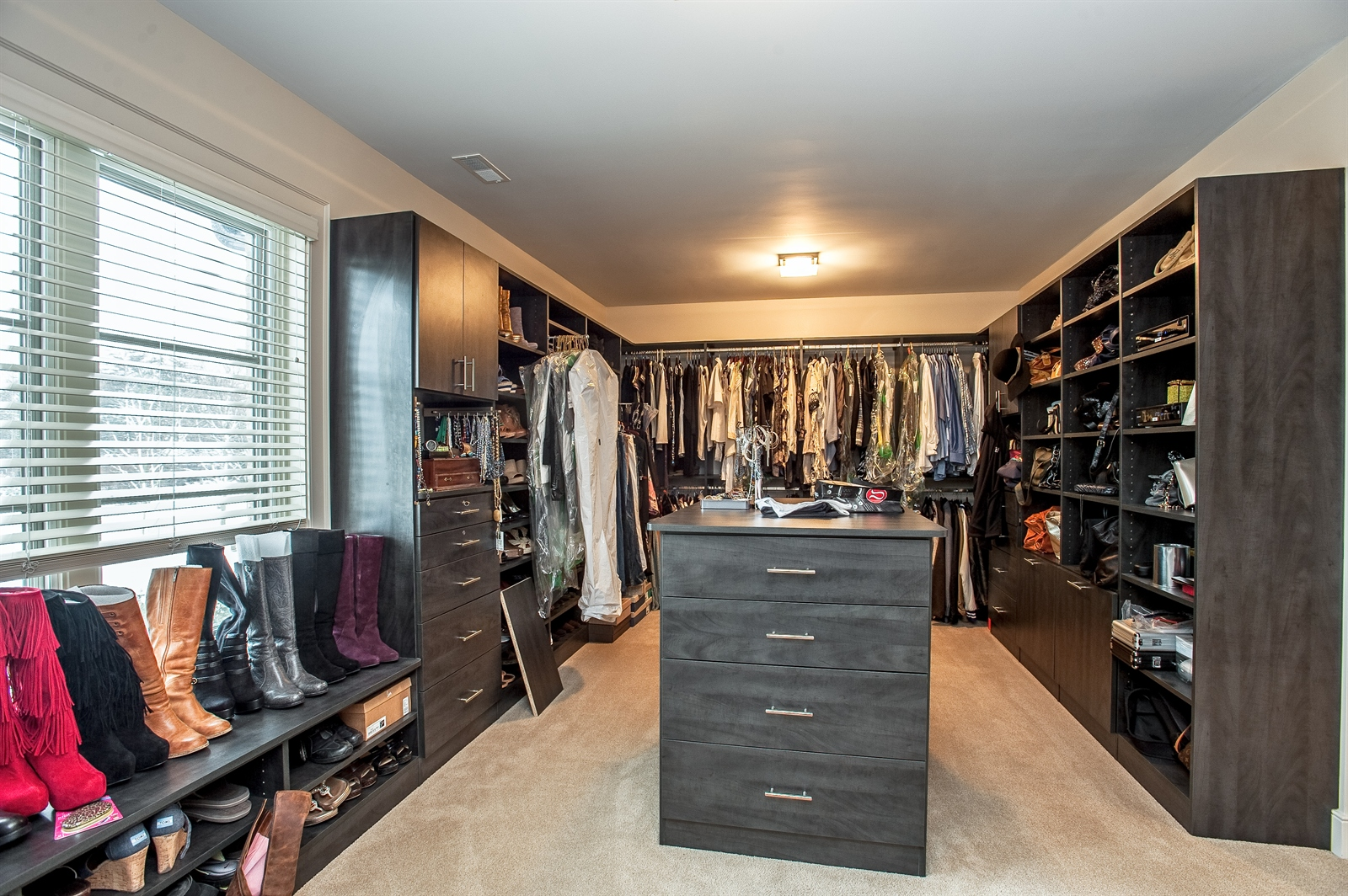 Real Estate Photography - 1715 Cloverdale Ave, Highland Park, IL, 60035 - Master Bedroom Closet