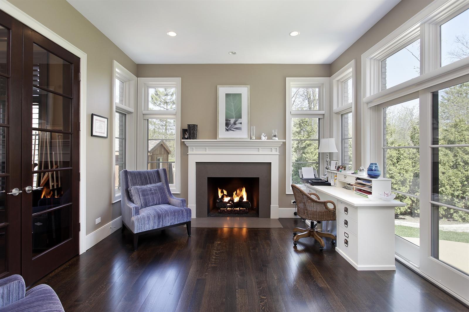 Real Estate Photography - 1715 Cloverdale Ave, Highland Park, IL, 60035 - Office/Den