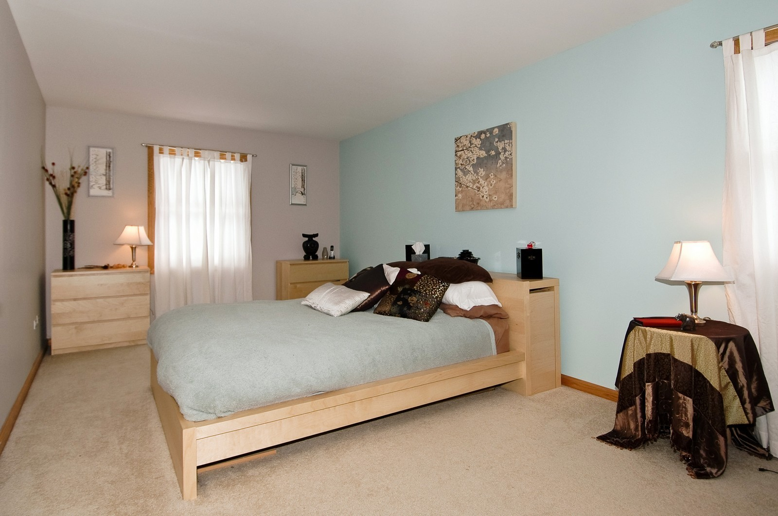 Real Estate Photography - 4603 Strong Rd, Crystal Lake, IL, 60014 - Master Bedroom
