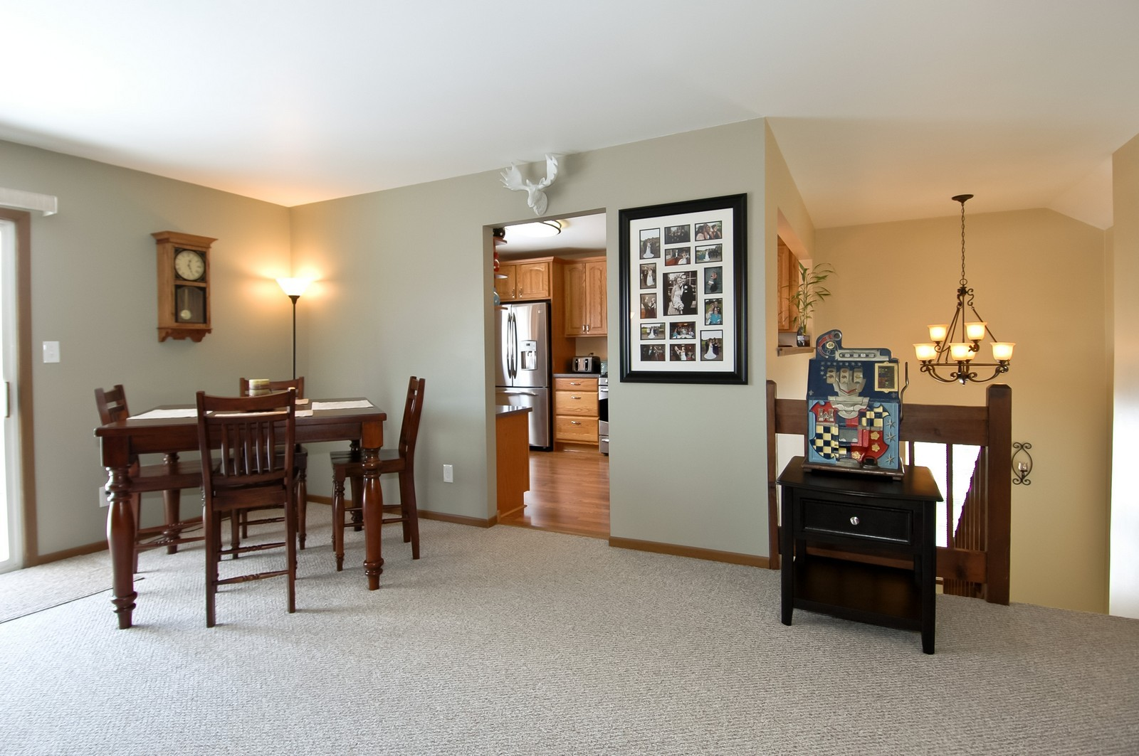 Real Estate Photography - 120 Springbrook Ct, McHenry, IL, 60050 - Foyer/Dining Room