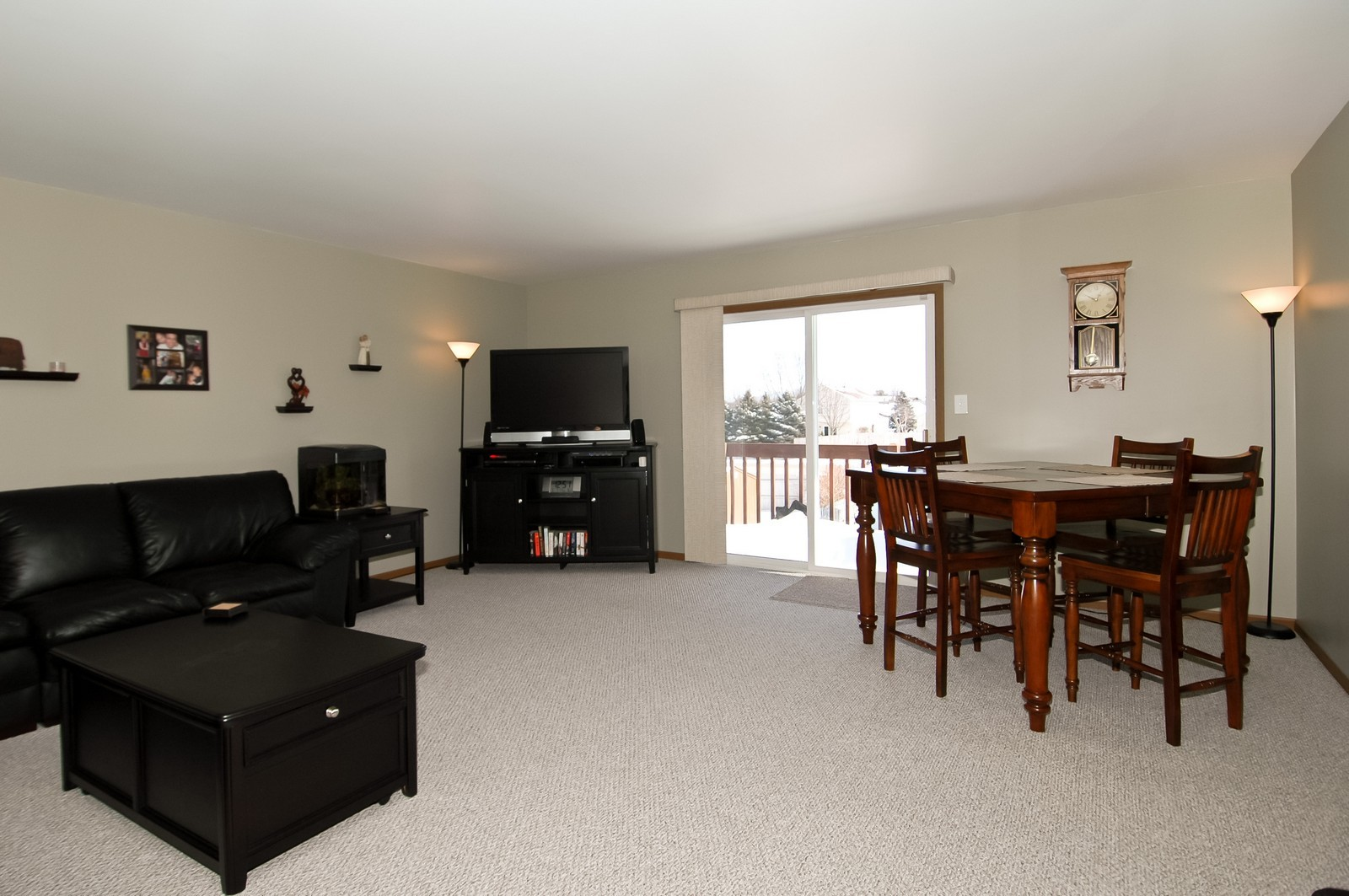 Real Estate Photography - 120 Springbrook Ct, McHenry, IL, 60050 - Living Room / Dining Room