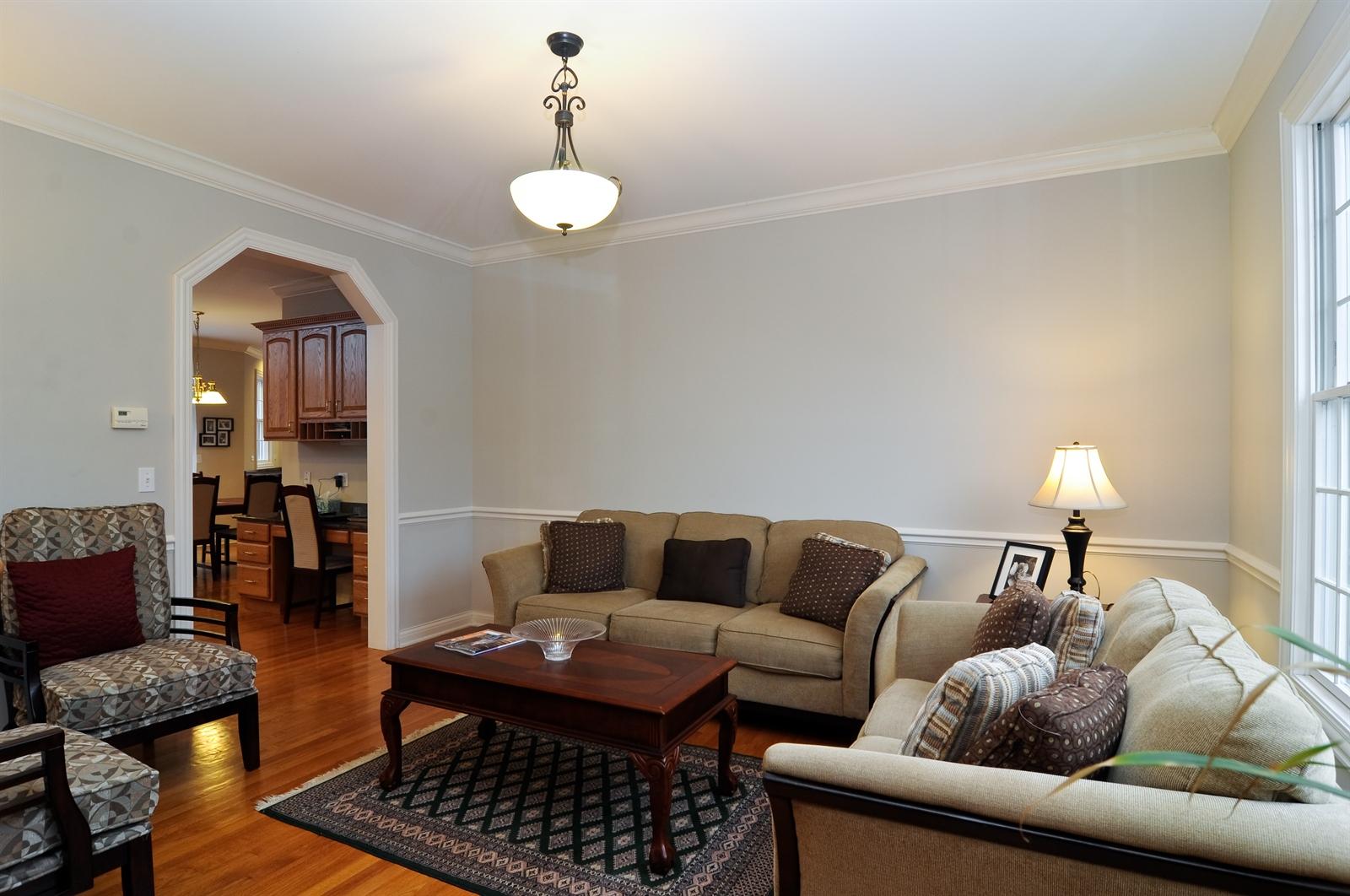 Real Estate Photography - 1020 Oakland, Barrington, IL, 60010 - Living Room