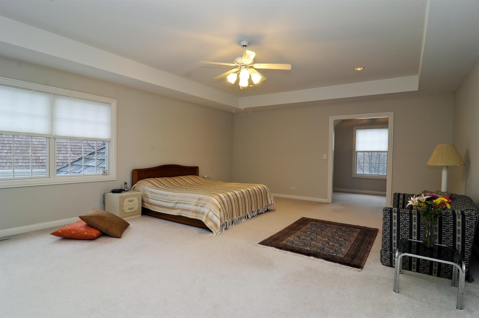 Real Estate Photography - 1020 Oakland, Barrington, IL, 60010 - Master Bedroom