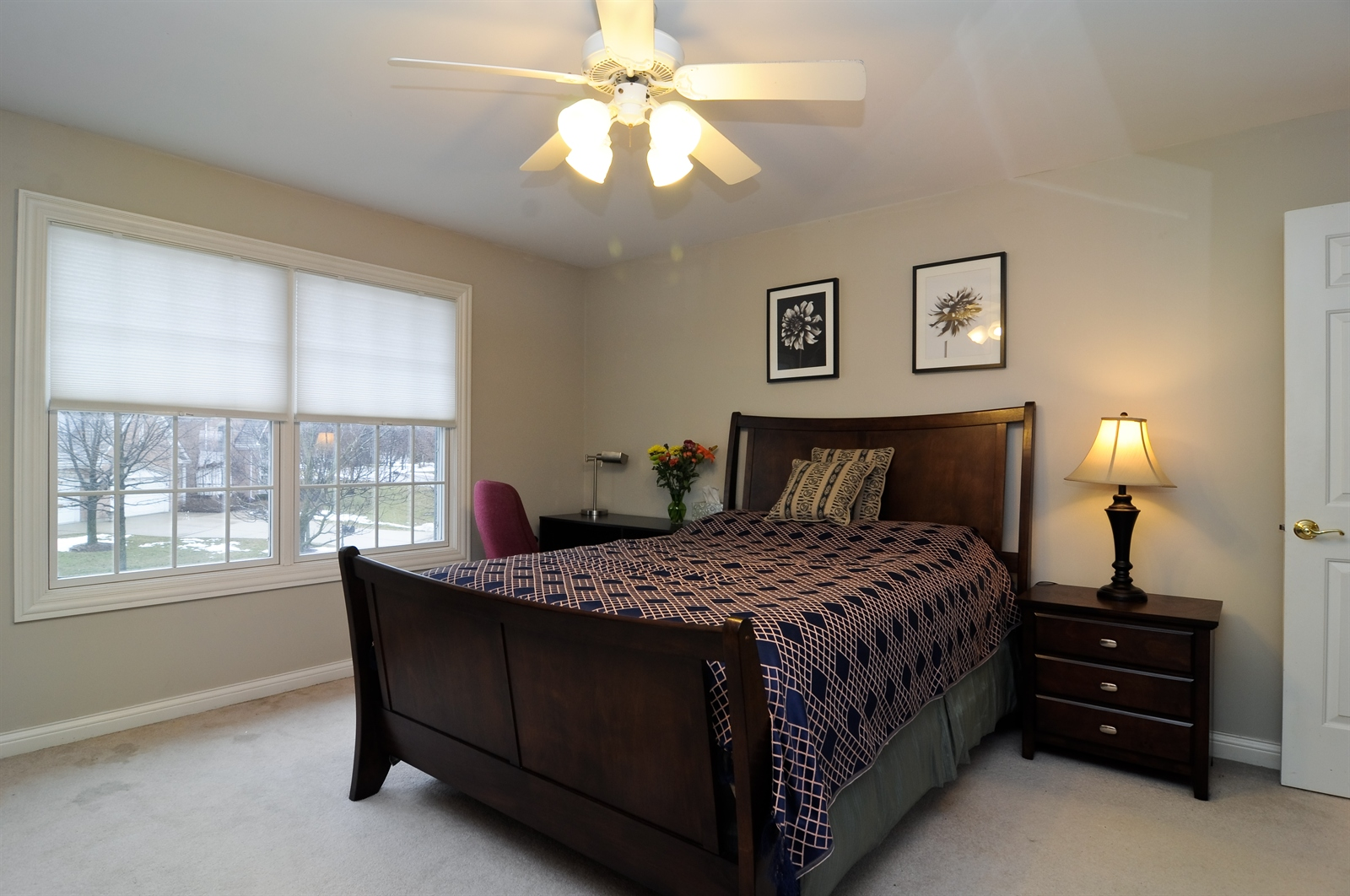 Real Estate Photography - 1020 Oakland, Barrington, IL, 60010 - 2nd Bedroom