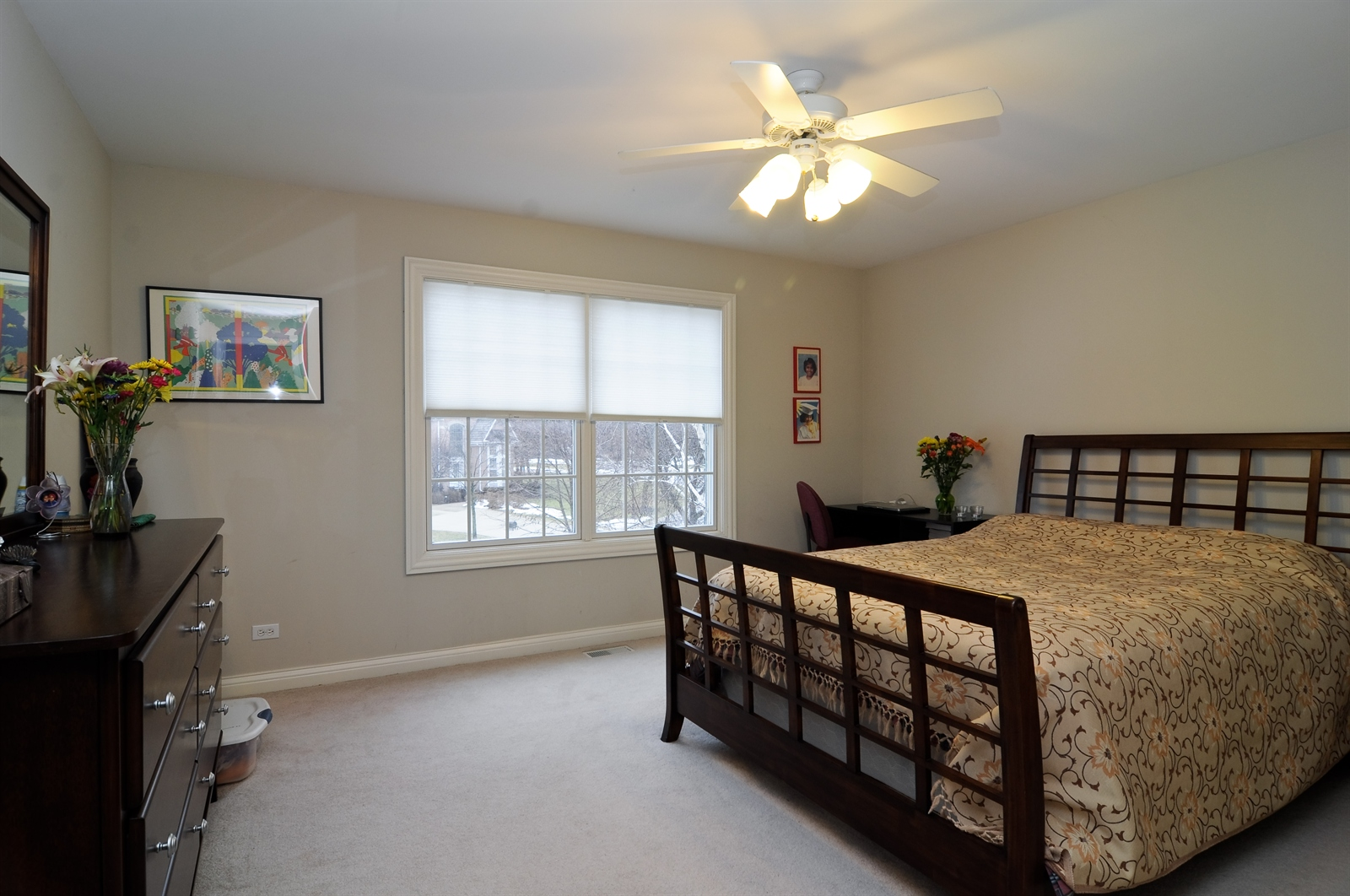 Real Estate Photography - 1020 Oakland, Barrington, IL, 60010 - 3rd Bedroom