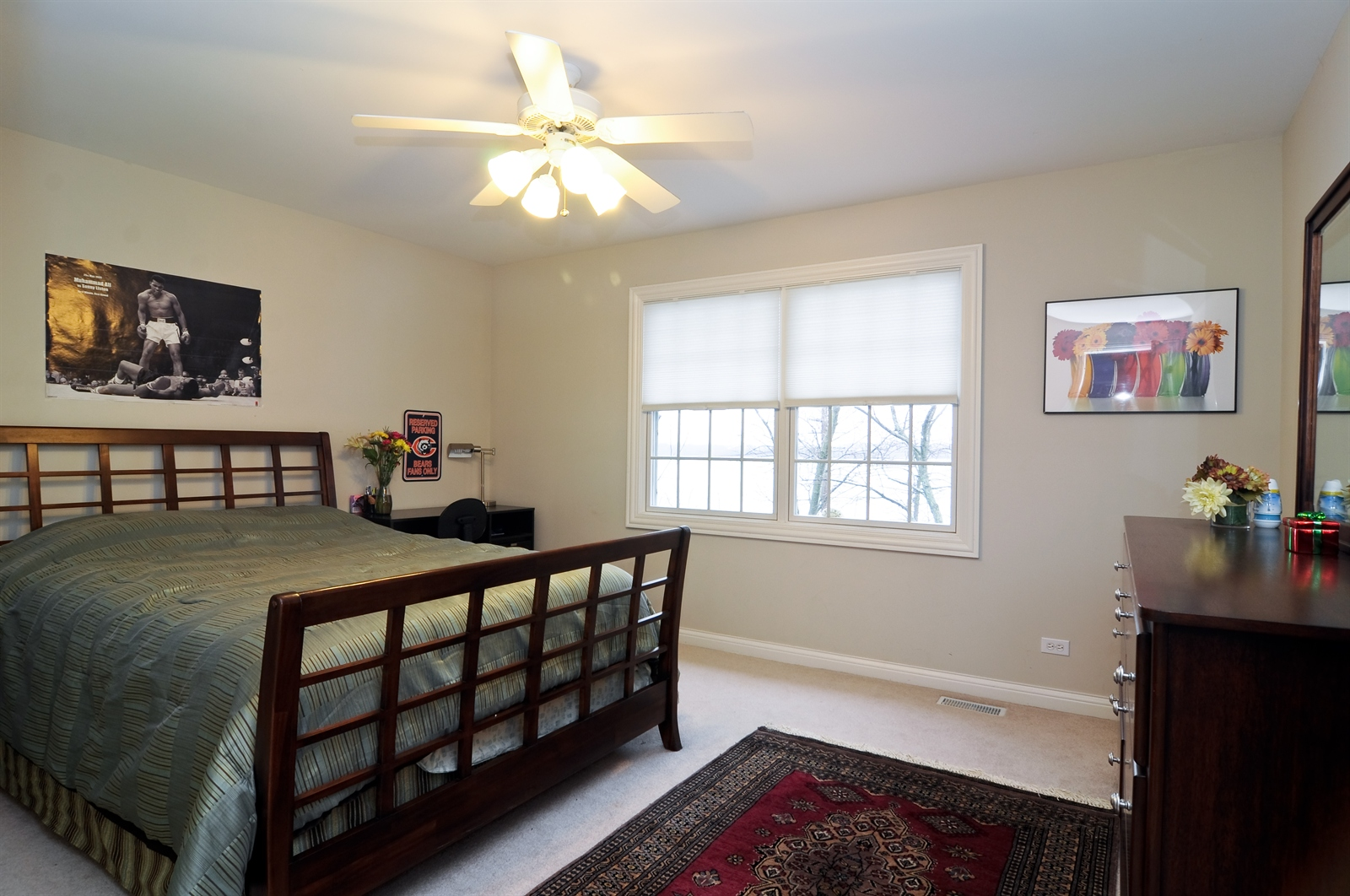 Real Estate Photography - 1020 Oakland, Barrington, IL, 60010 - 4th Bedroom