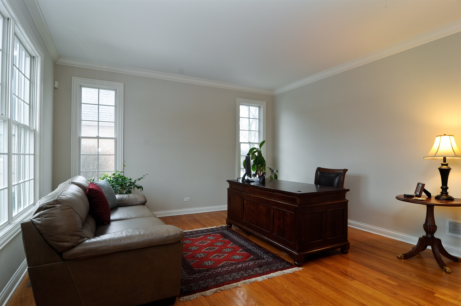 Real Estate Photography - 1020 Oakland, Barrington, IL, 60010 - Office