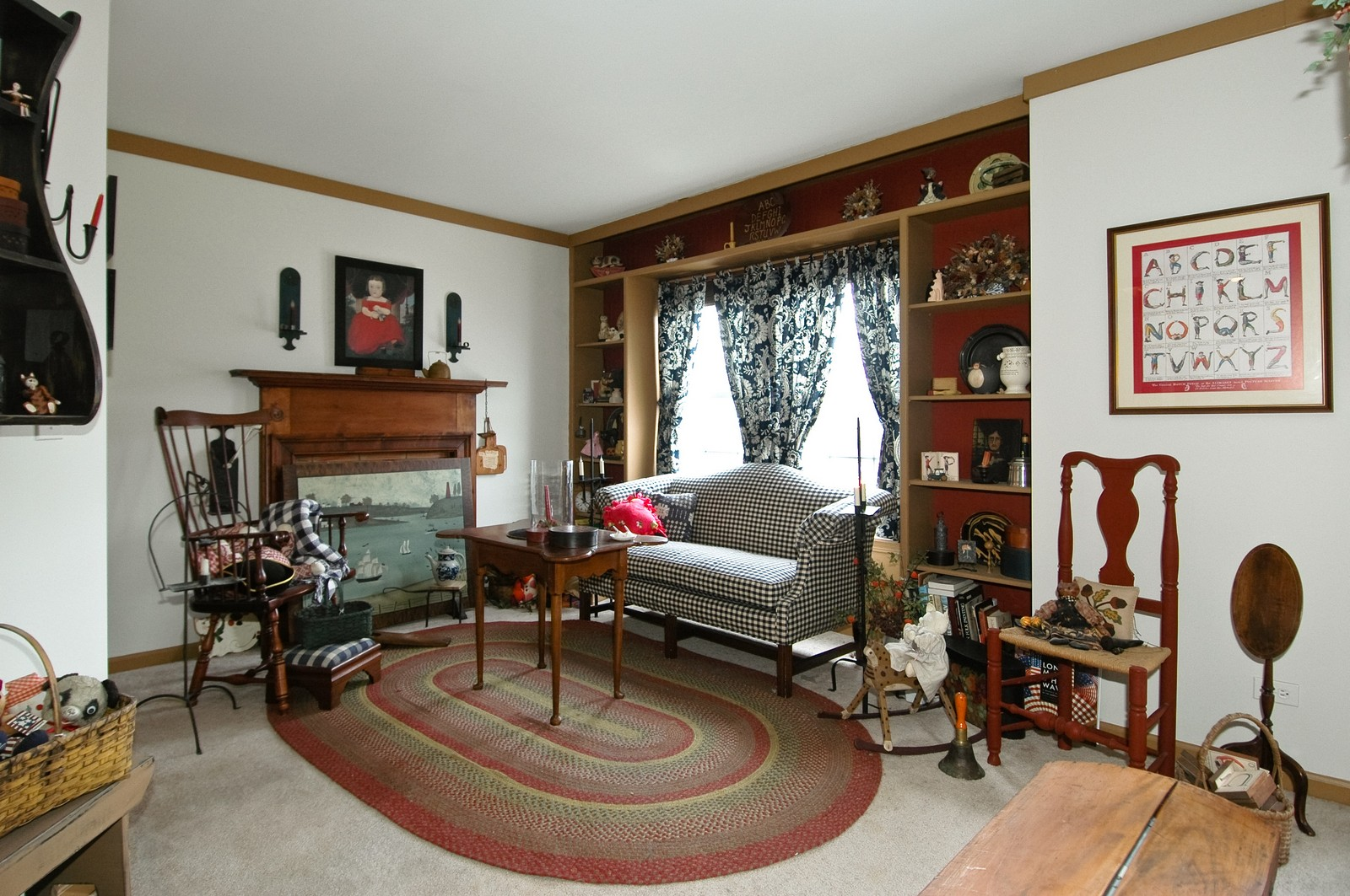 Real Estate Photography - 10520 Wakefield Ln, Huntley, IL, 60142 - Bedroom 2 Sitting Area