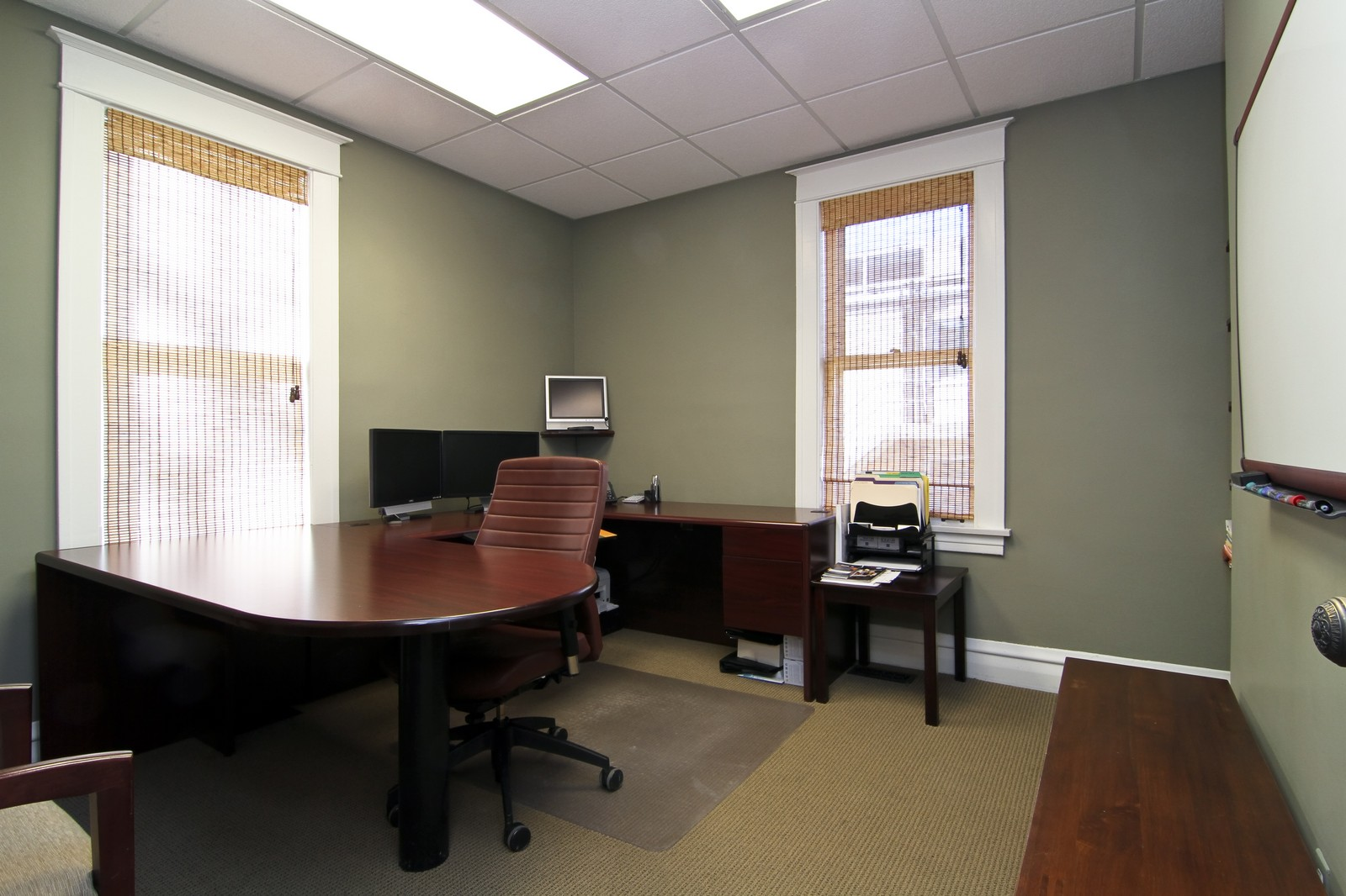 Real Estate Photography - 310 S Hale St, Wheaton, IL, 60187 - Office
