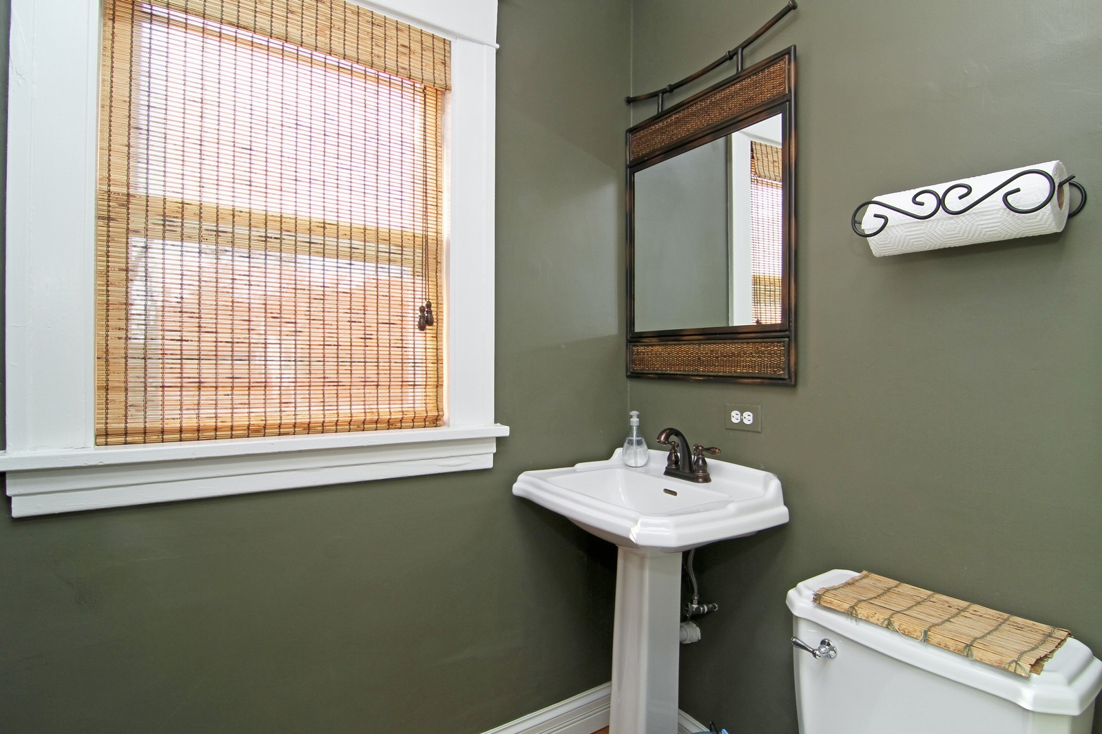 Real Estate Photography - 310 S Hale St, Wheaton, IL, 60187 - Bathroom