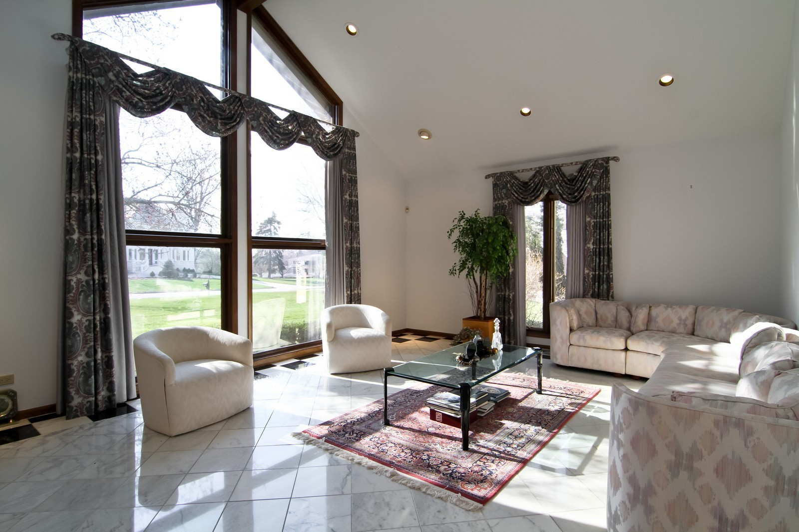 Real Estate Photography - 502 Midwest Club Pkwy, Oak Brook, IL, 60523 - Living Room