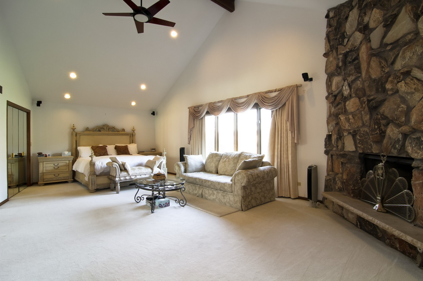 Real Estate Photography - 502 Midwest Club Pkwy, Oak Brook, IL, 60523 - Master Bedroom