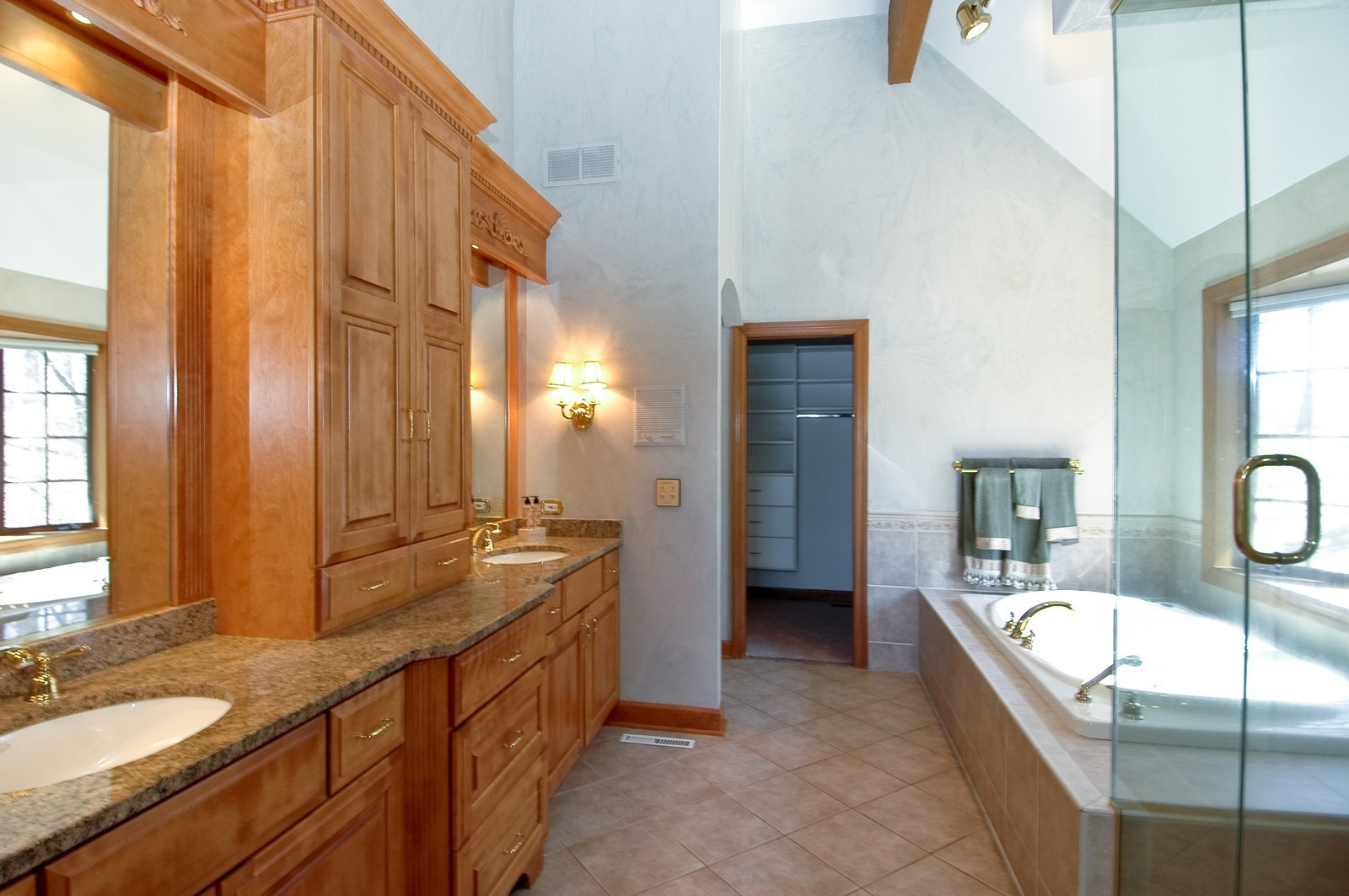 Real Estate Photography - 10424 Deerpath Rd, Woodstock, IL, 60098 - Master Bathroom
