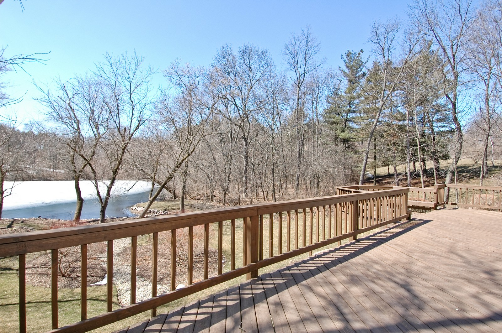 Real Estate Photography - 10424 Deerpath Rd, Woodstock, IL, 60098 - Deck