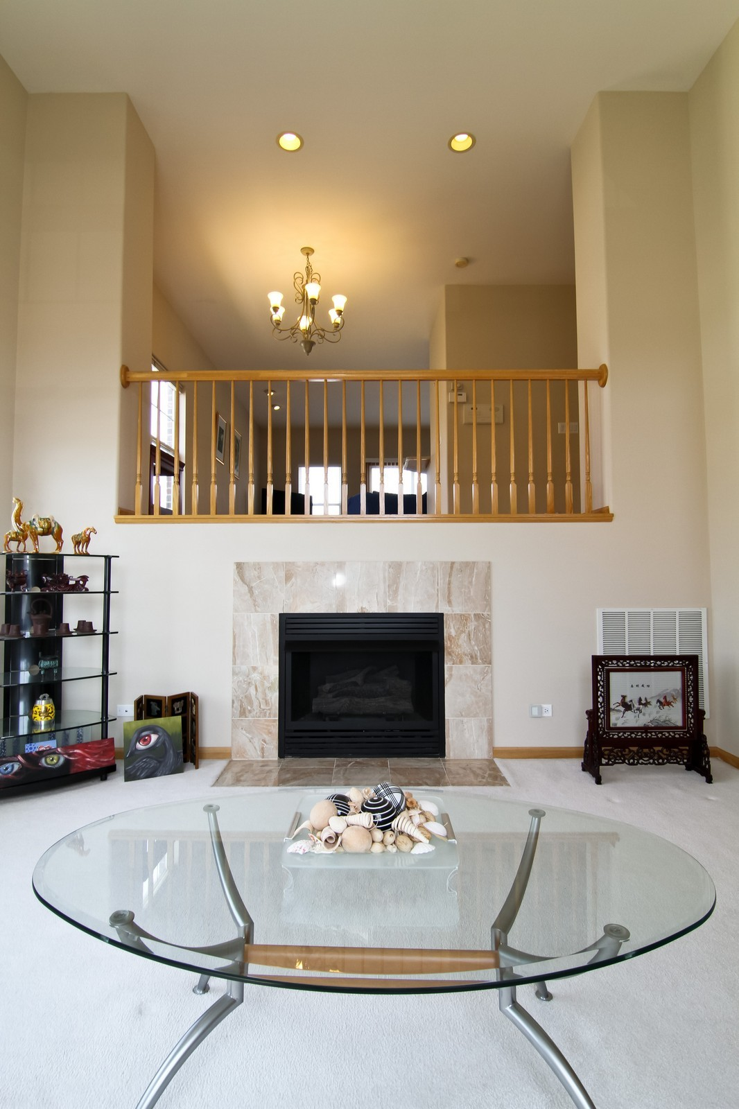 Real Estate Photography - 1135 Ironwood Ln, Lisle, IL, 60532 - Living Room