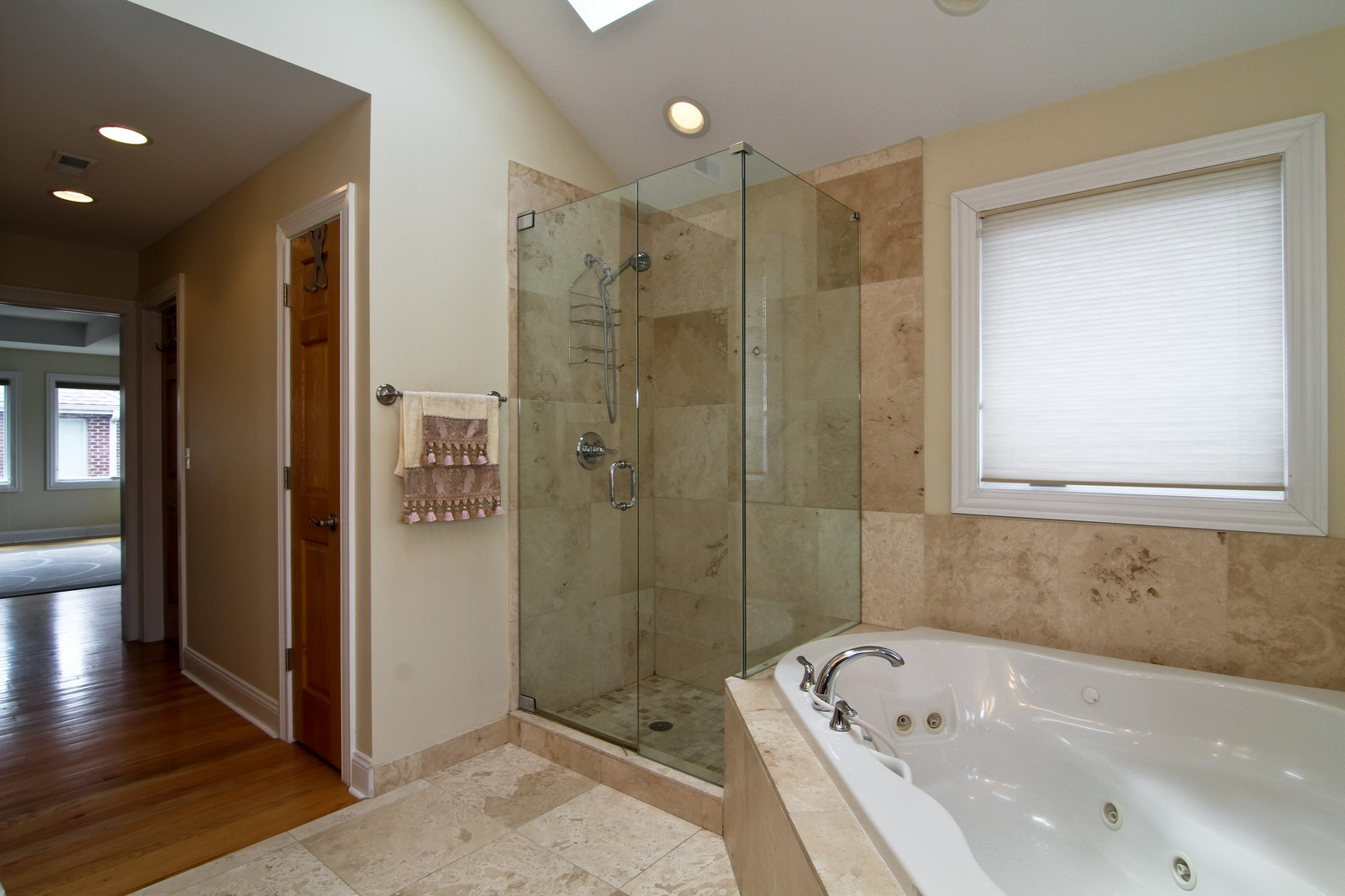 Real Estate Photography - 5626 Chase Ave, Downers Grove, IL, 60516 - Master Bathroom