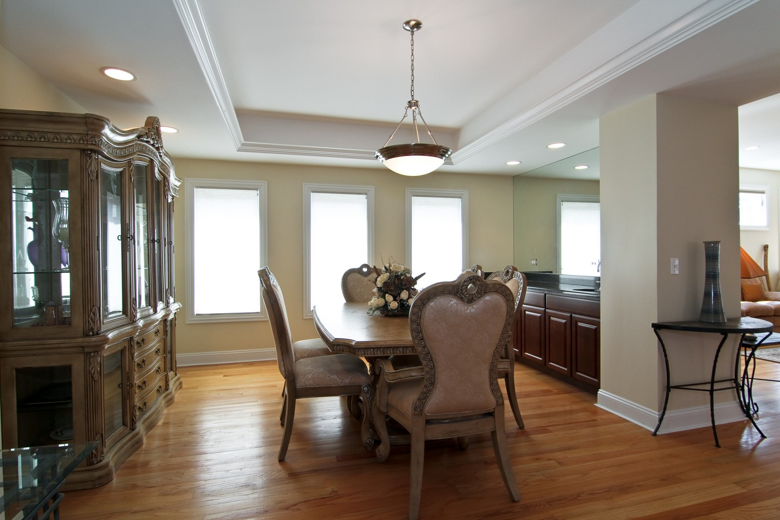 Real Estate Photography - 5626 Chase Ave, Downers Grove, IL, 60516 - Dining Room