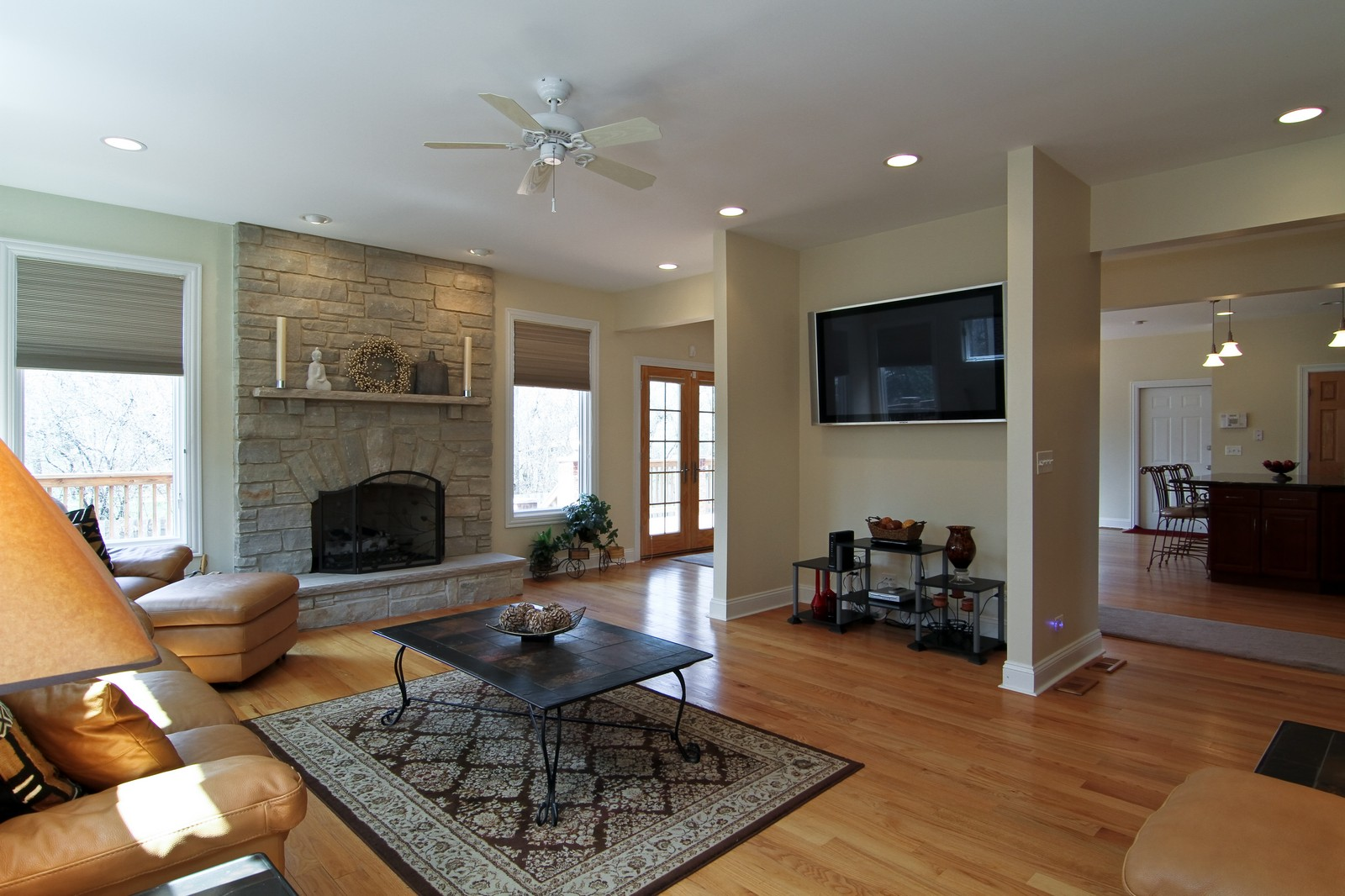Real Estate Photography - 5626 Chase Ave, Downers Grove, IL, 60516 - Family Room