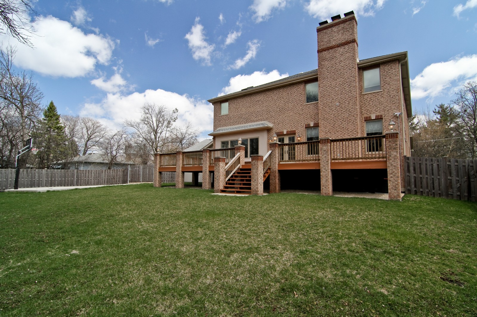 Real Estate Photography - 5626 Chase Ave, Downers Grove, IL, 60516 - Rear View
