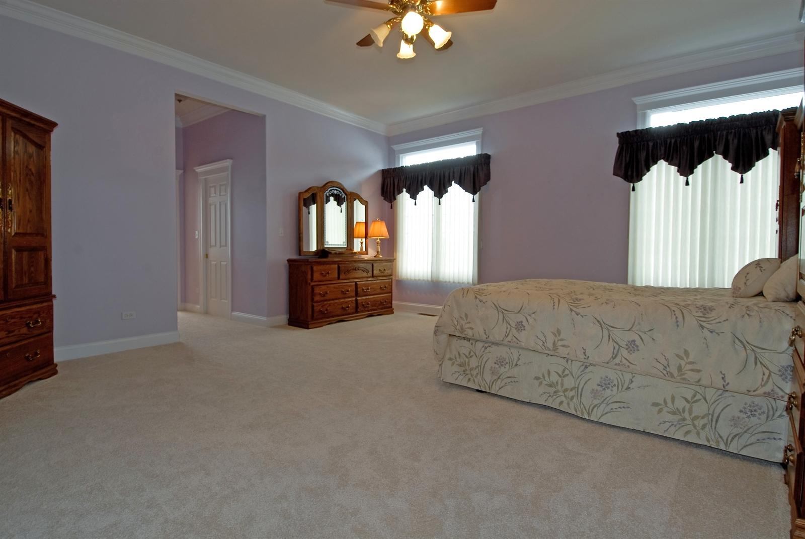 Real Estate Photography - 4N481 Samuel Clemens Dr, Saint Charles, IL, 60175 - Master Bedroom