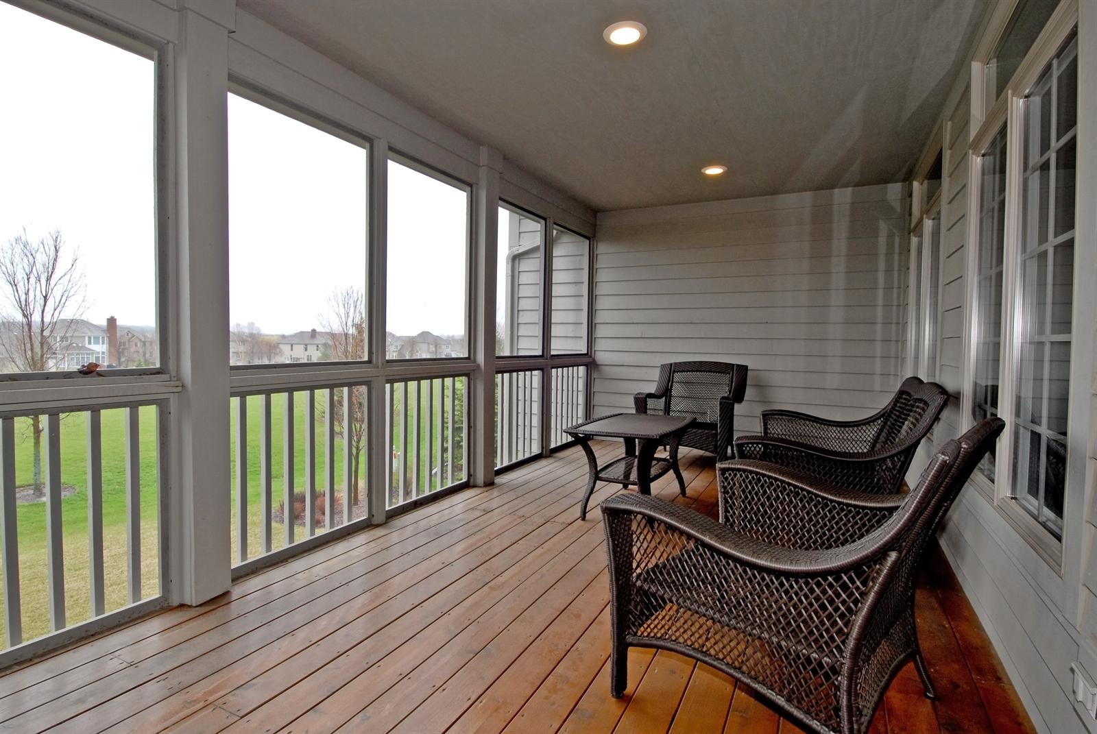 Real Estate Photography - 4N481 Samuel Clemens Dr, Saint Charles, IL, 60175 - Porch