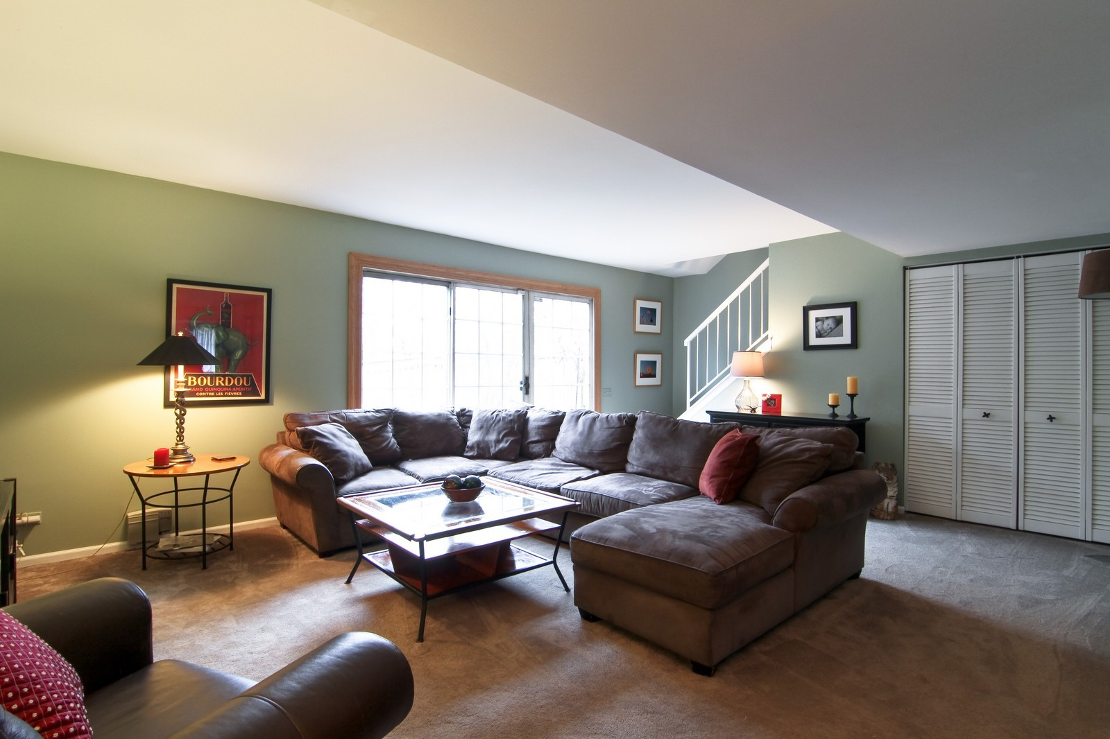 Real Estate Photography - 1916 Brighton, Downers Grove, IL, 60516 - Living Room