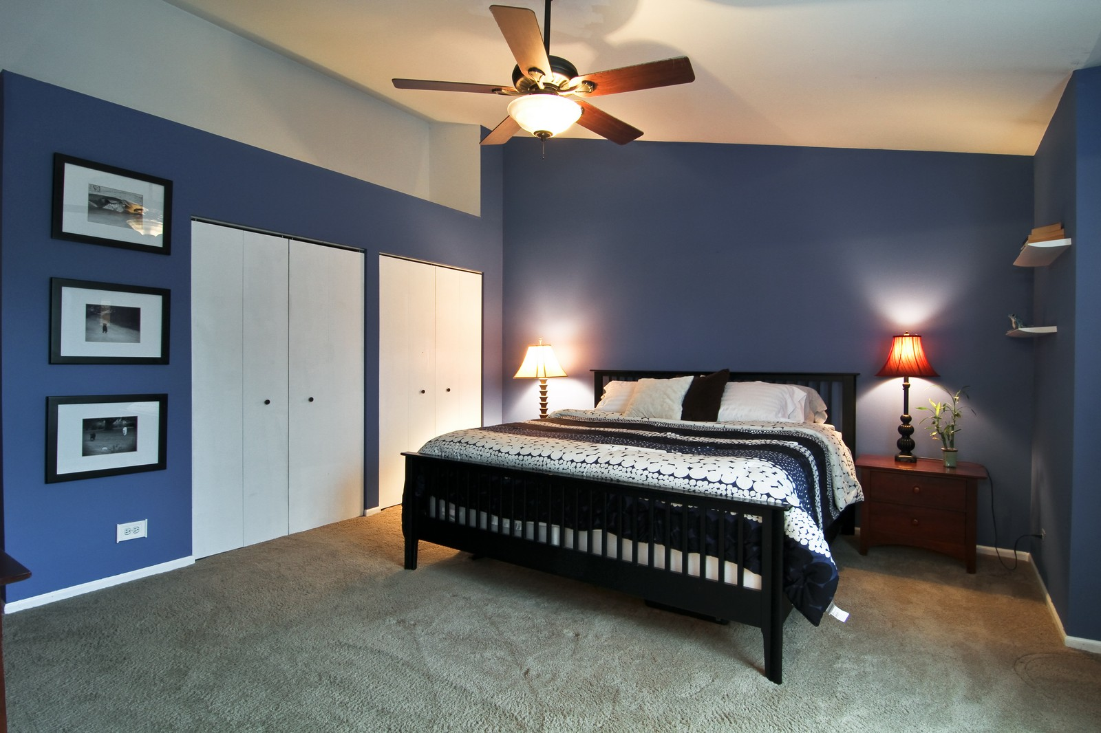 Real Estate Photography - 1916 Brighton, Downers Grove, IL, 60516 - Master Bedroom