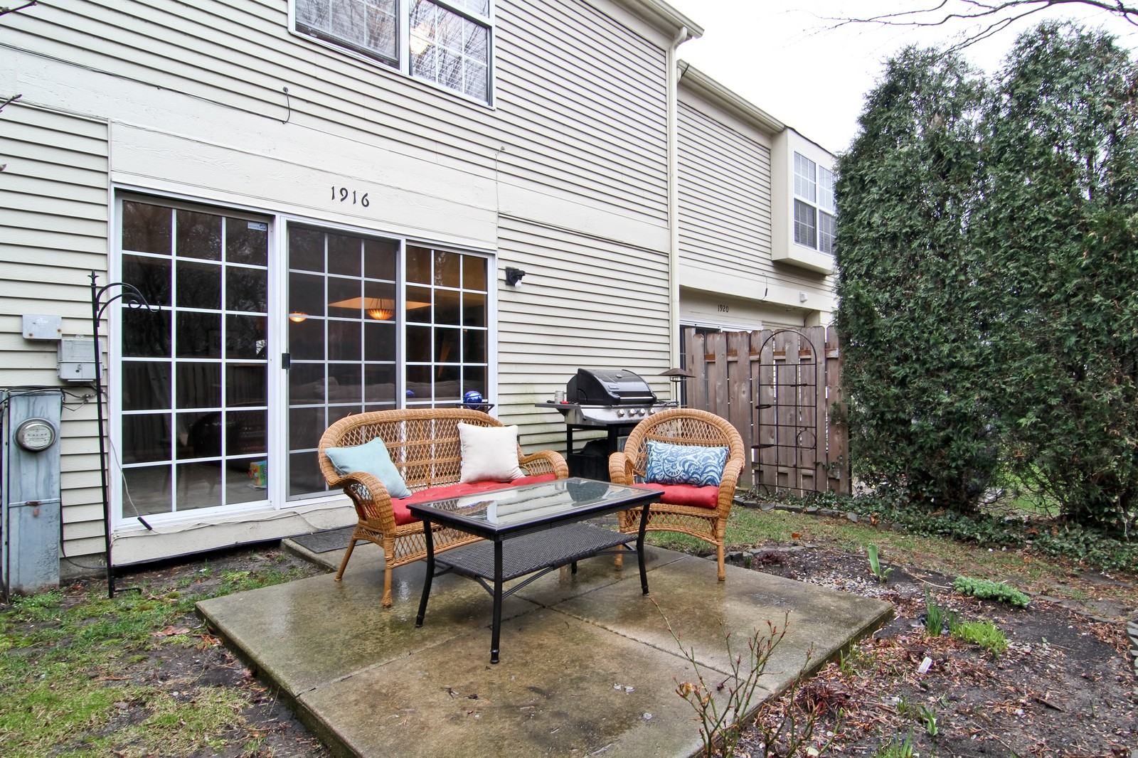 Real Estate Photography - 1916 Brighton, Downers Grove, IL, 60516 - Patio