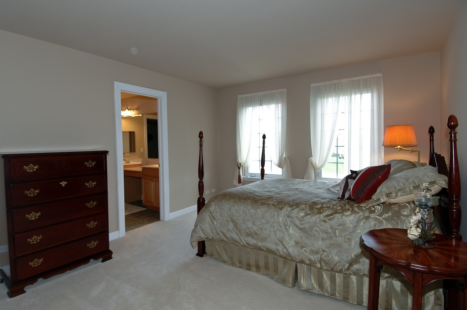 Real Estate Photography - 1001 Marble Ct, Lake in the Hills, IL, 60156 - 3rd Bedroom